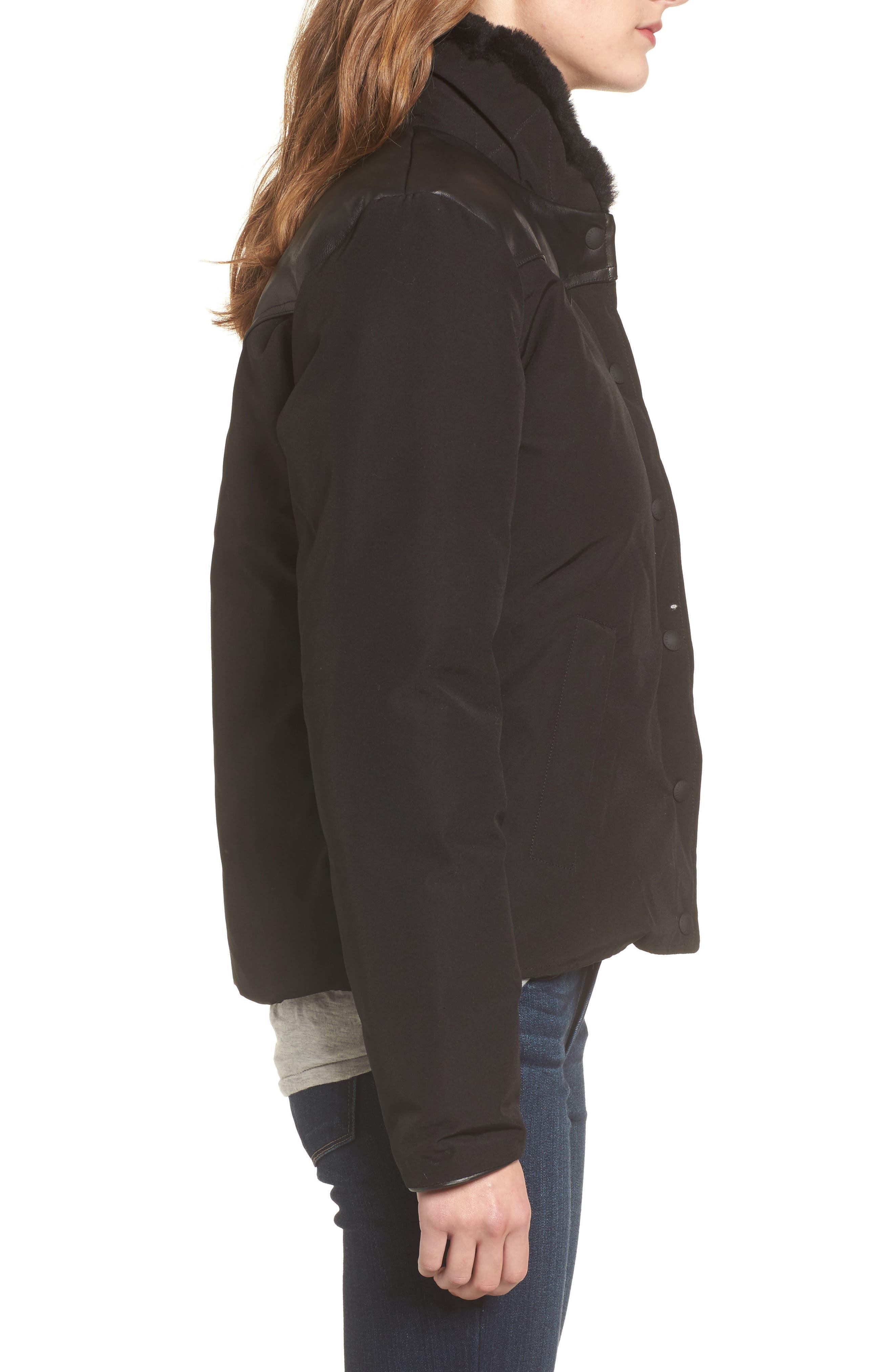Alternate Image 3  - Penfield Rockwool Down Jacket with Genuine Coyote Fur Trim