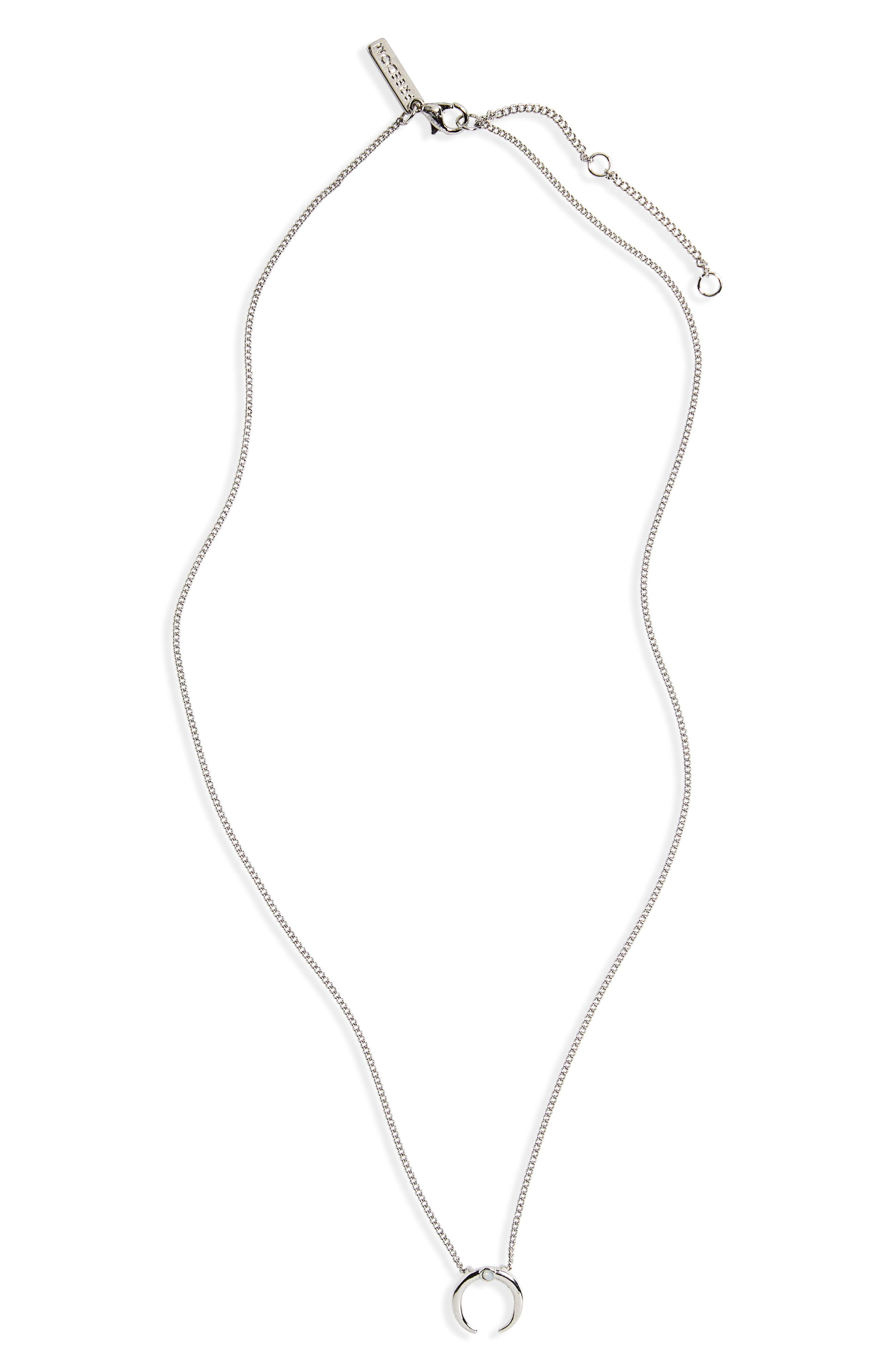 Topshop Horn Ditsy Shell Necklace