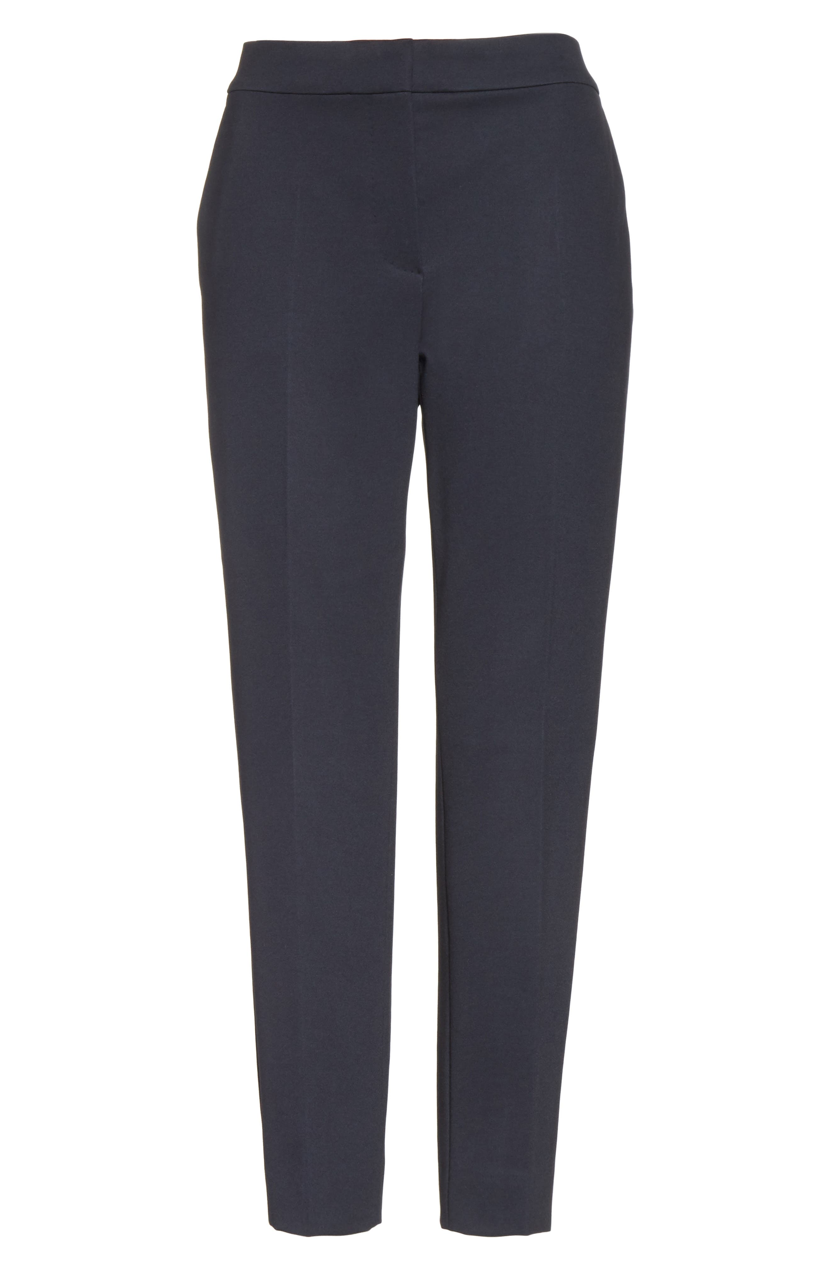 Alternate Image 7  - Max Mara Pegno Jersey Crop Pants