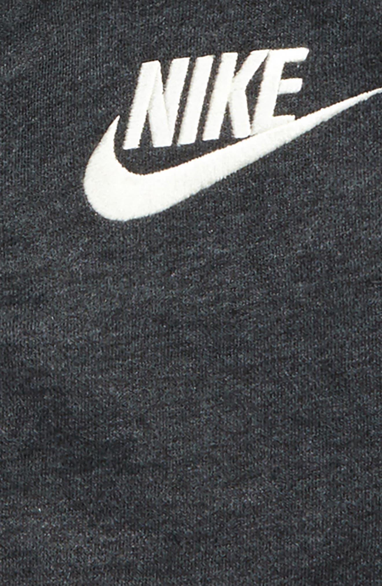 Alternate Image 2  - Nike Legacy Full Zip Hoodie (Toddler Boys & Little Boys)