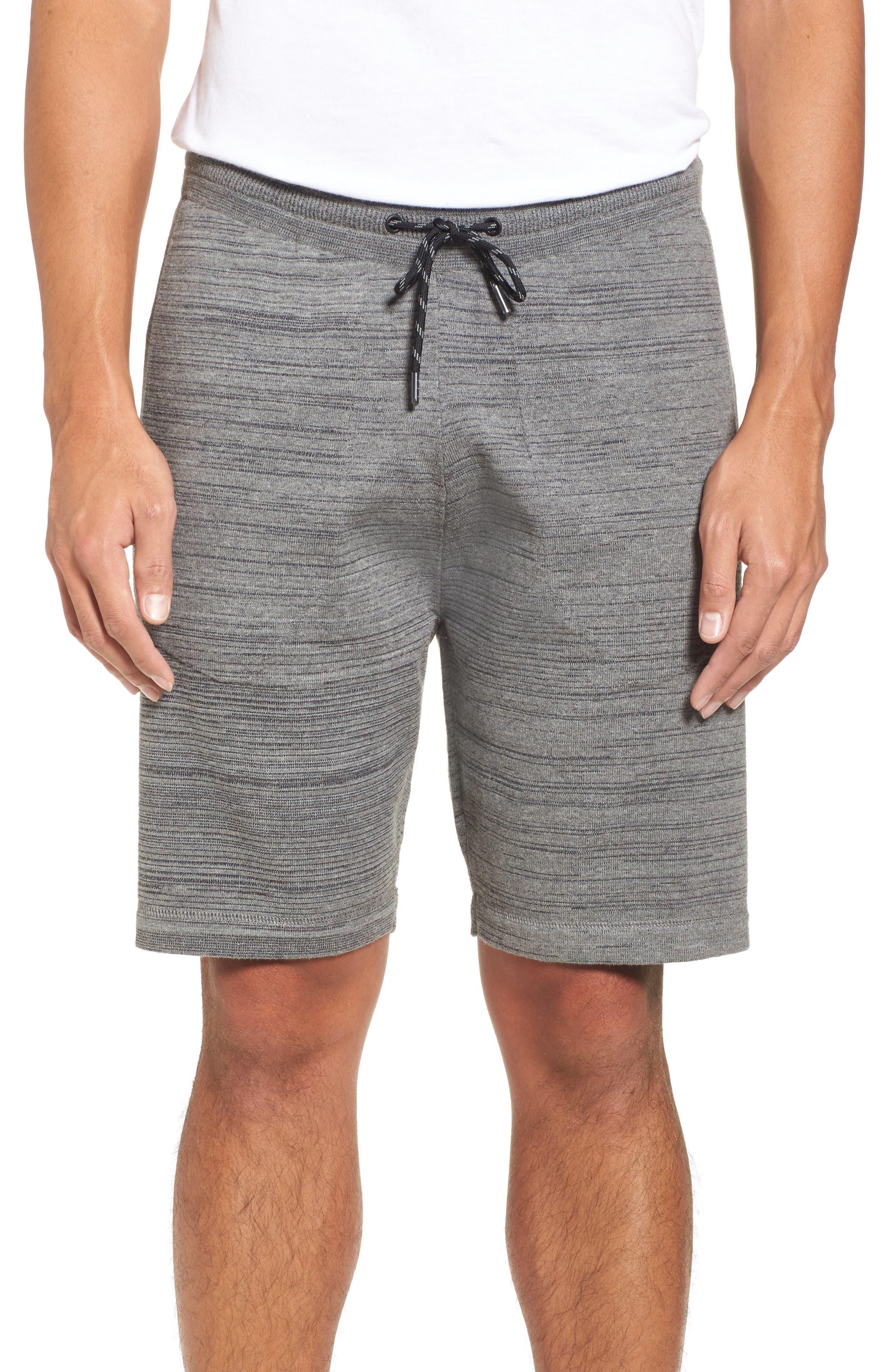 Tech Shorts,                         Main,                         color, Grey Obsidian Spacedye