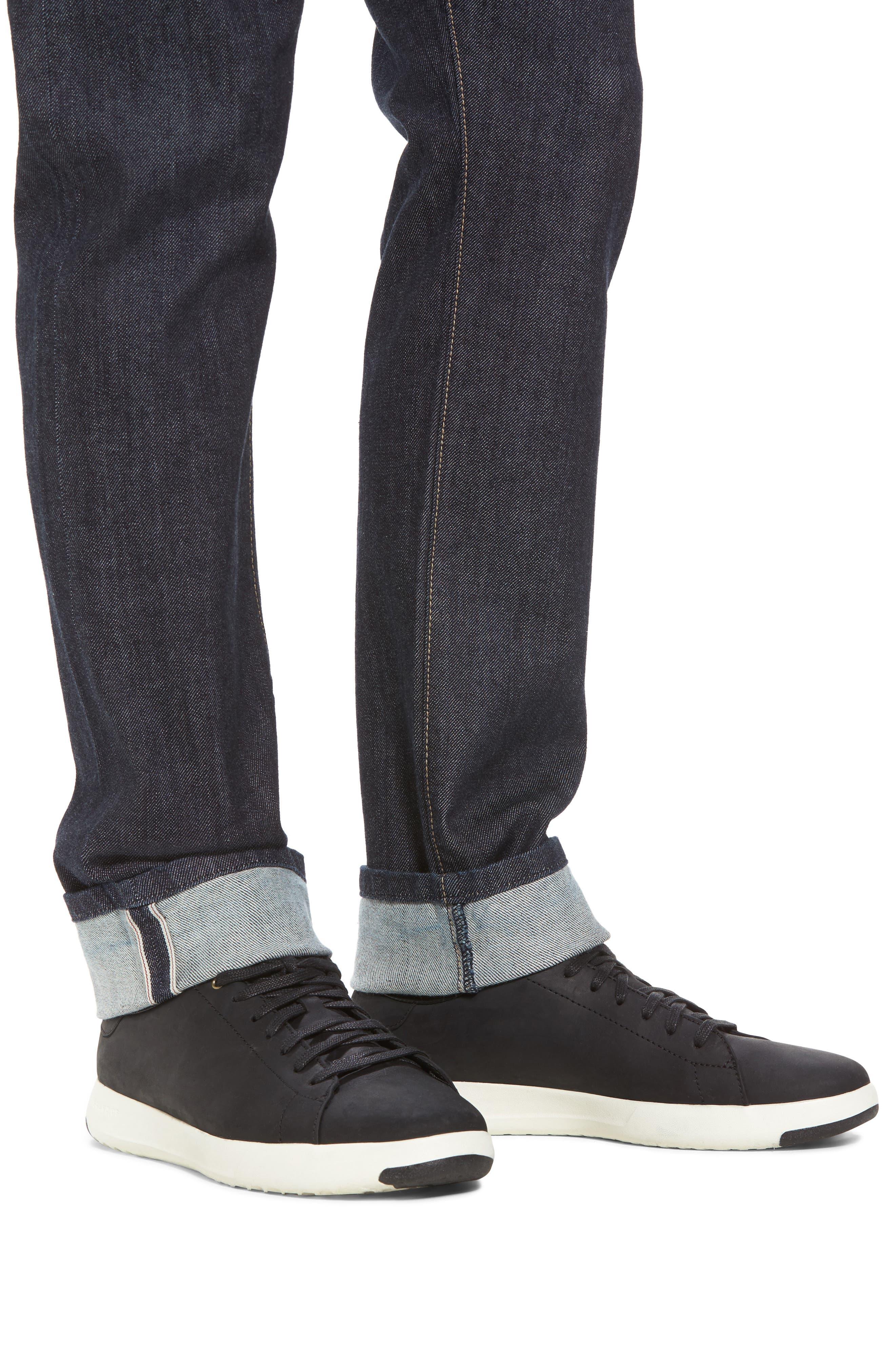 Alternate Image 4  - Fidelity Denim Torino Slim Fit Jeans (Akiba)