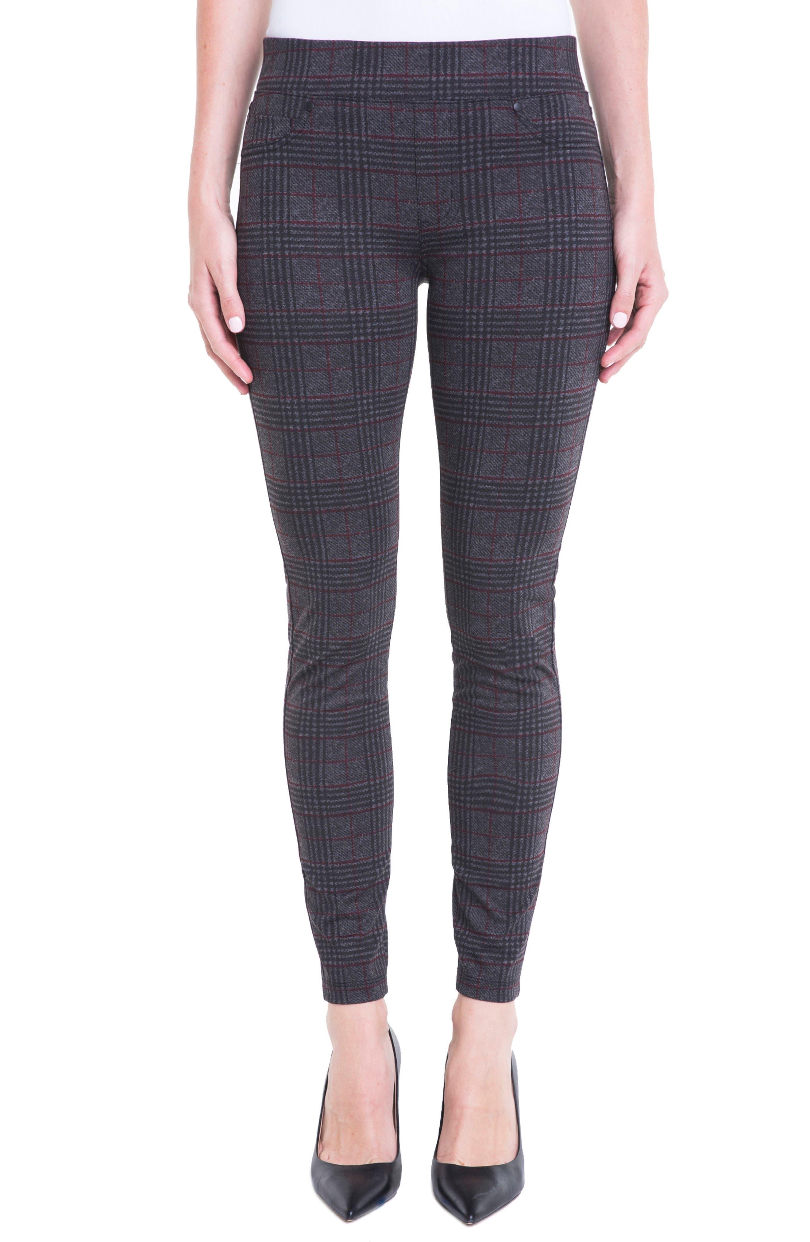 Liverpool Jeans Company Sienna Glen Plaid Leggings