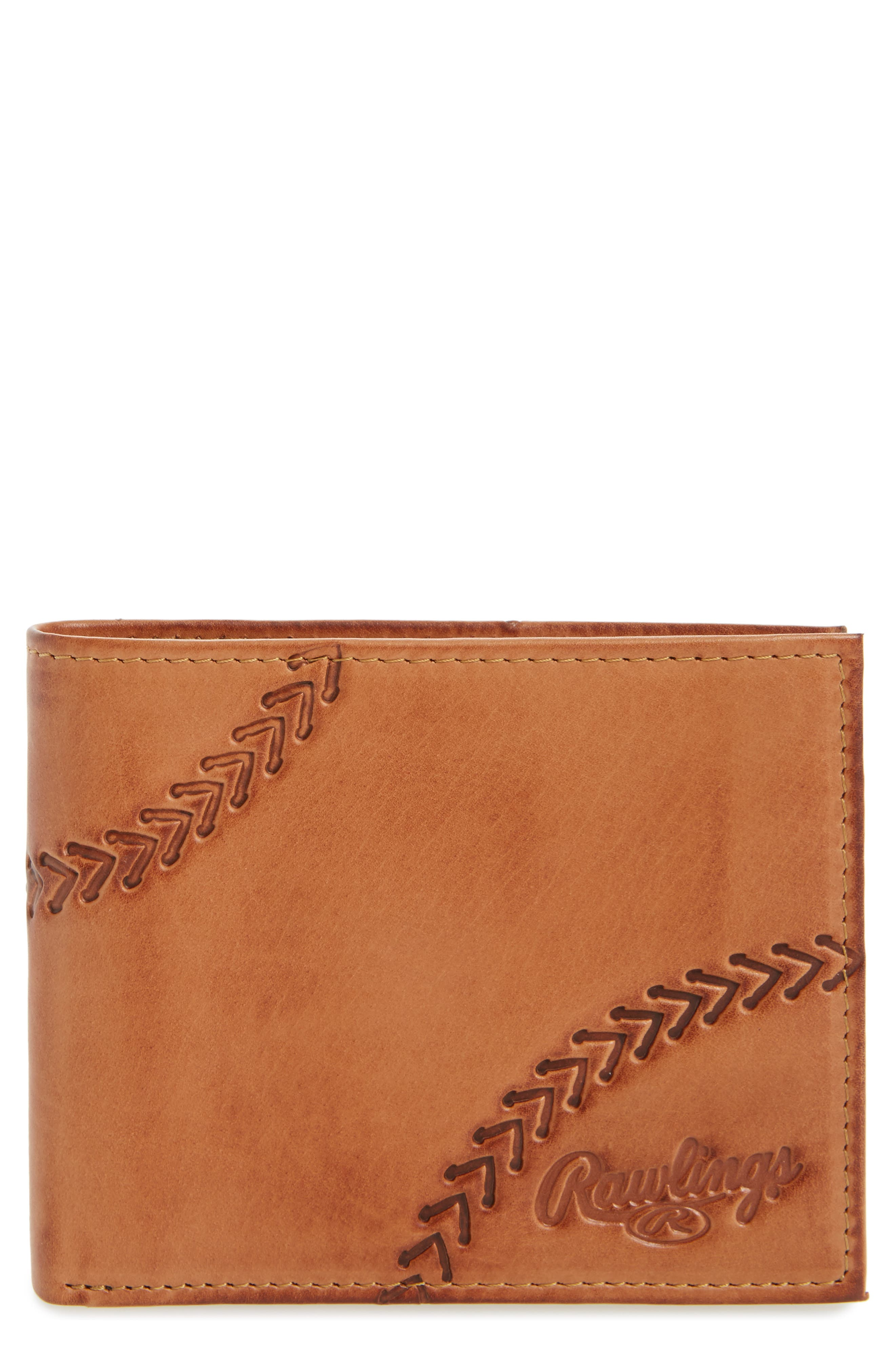 Rawlings Line Drive Bifold Leather Wallet