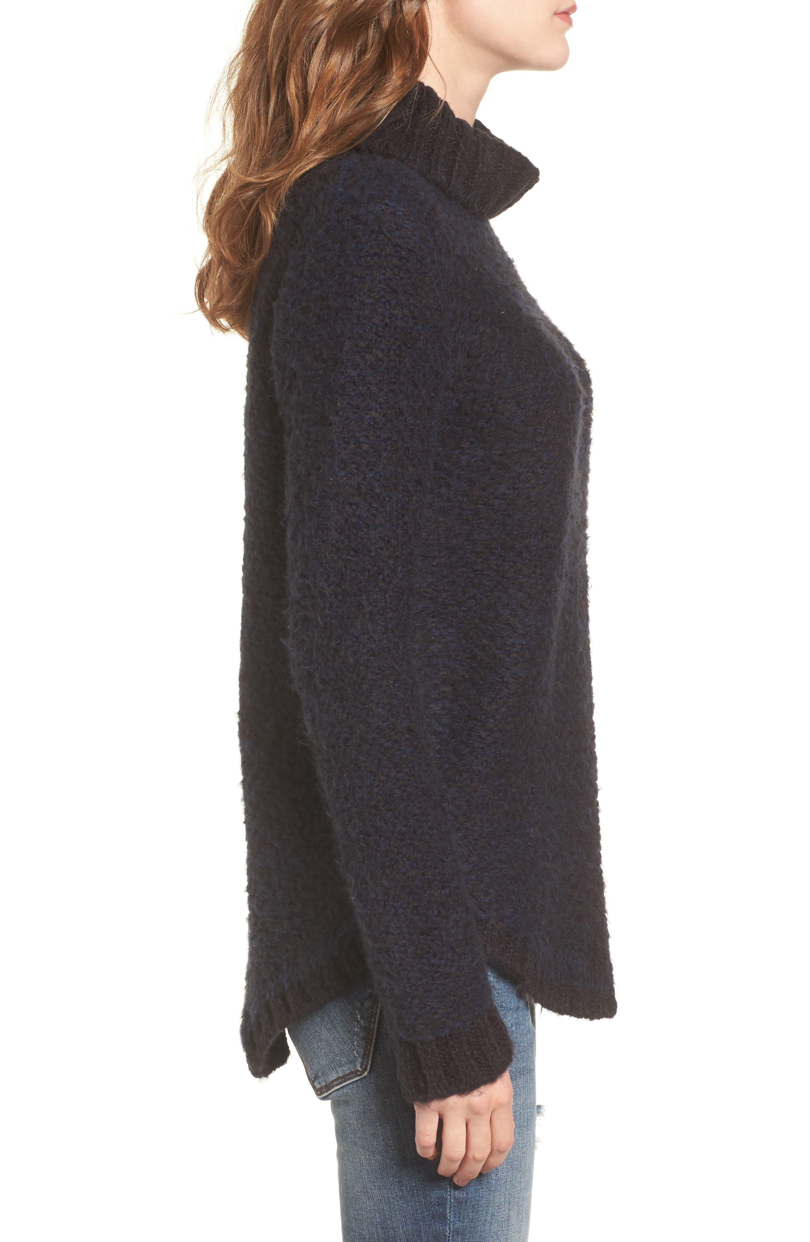 Alternate Image 3  - RVCA Kinks Turtleneck Sweater