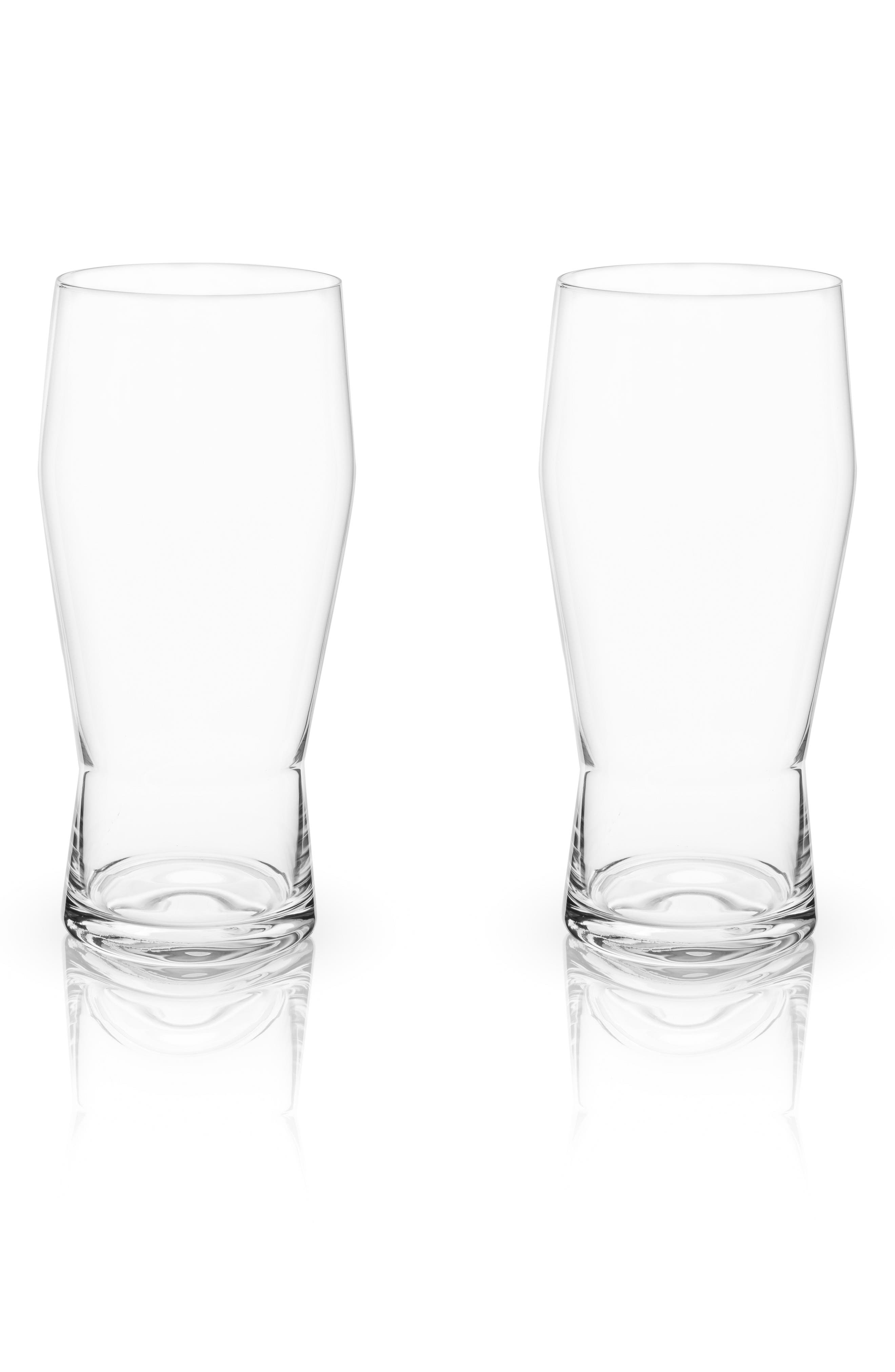 Set of 2 Pub Glasses,                         Main,                         color, White