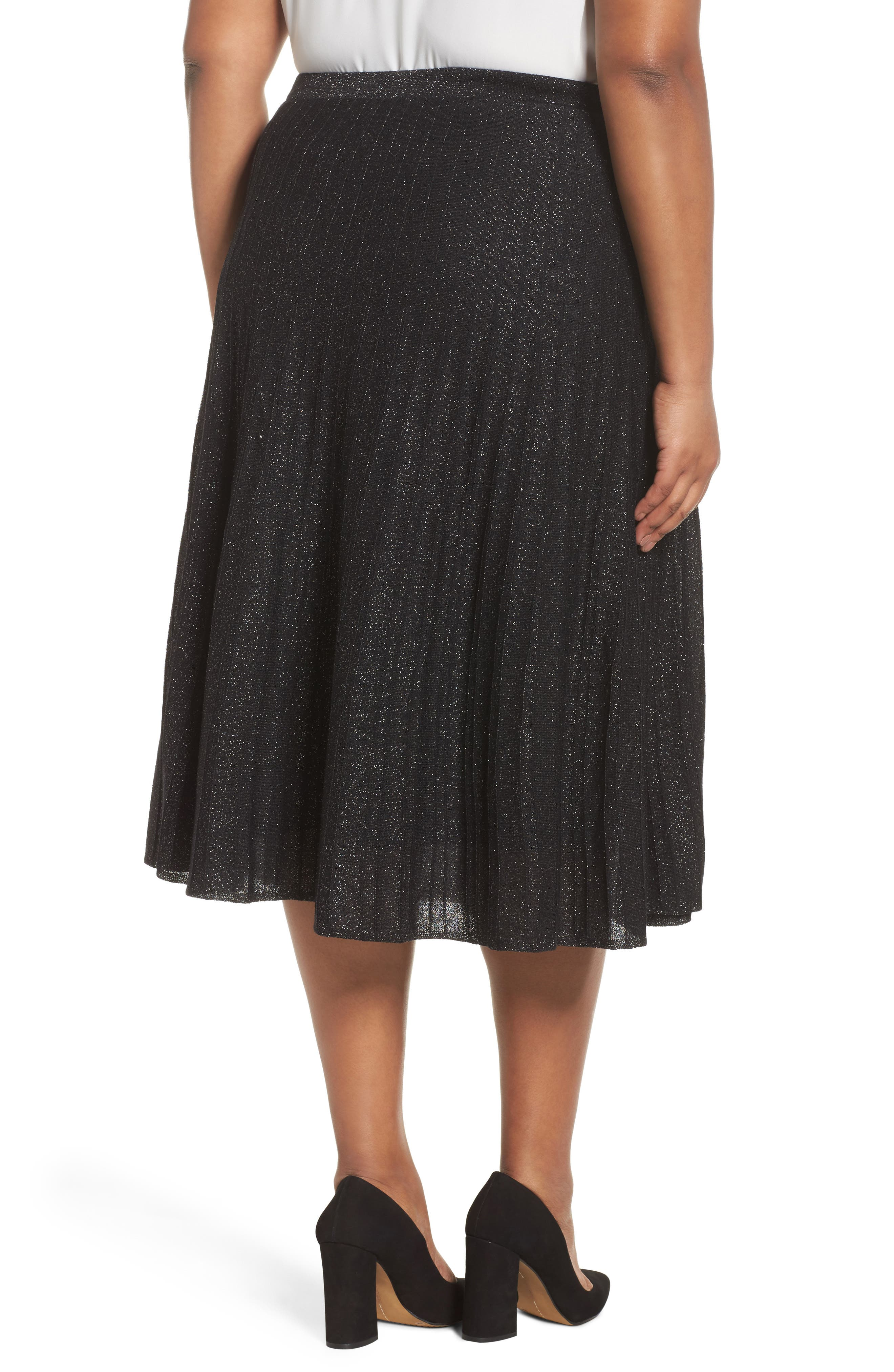 Luminary Skirt,                             Alternate thumbnail 2, color,                             Black Mix