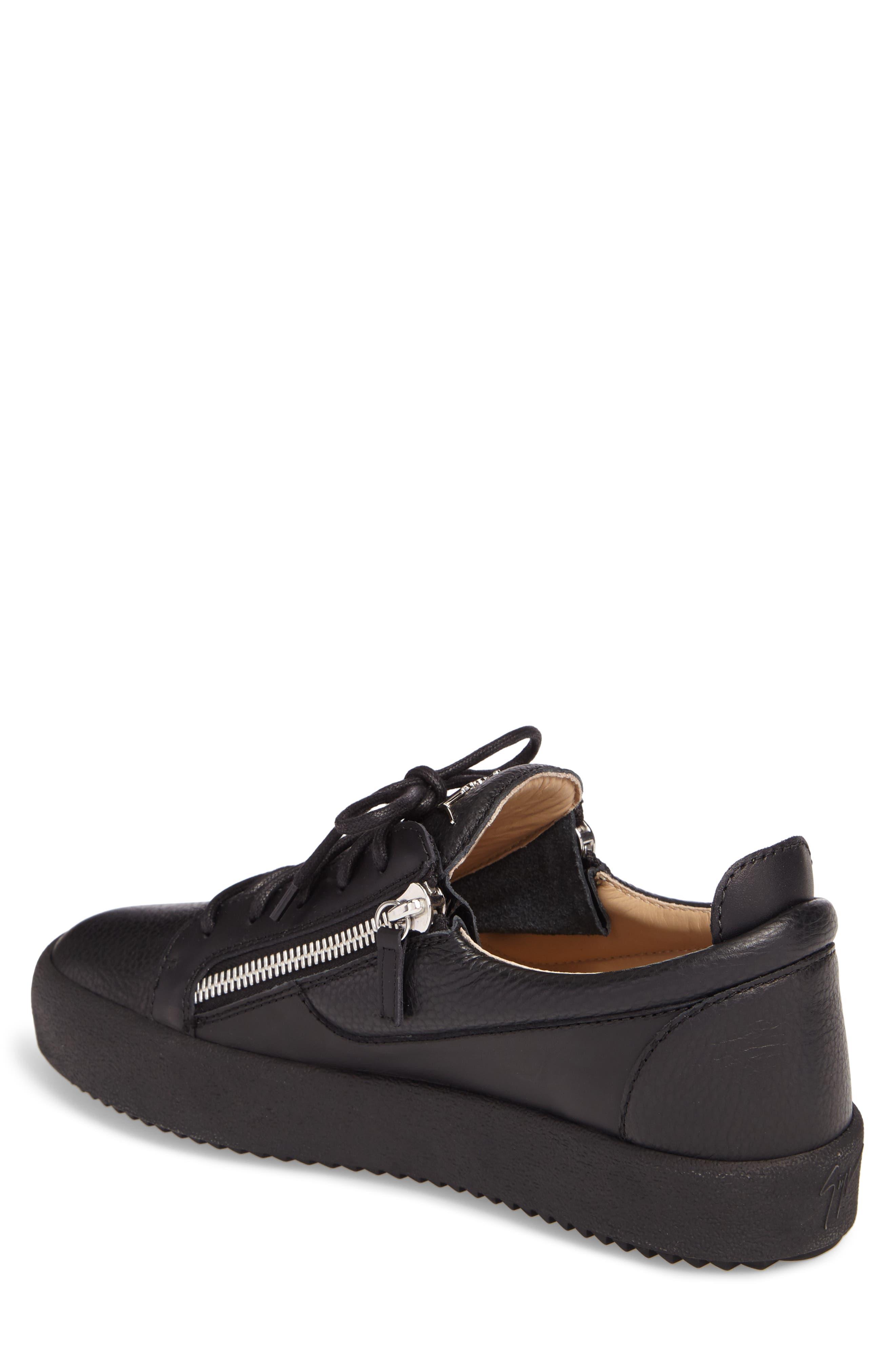 Low-Top Sneaker,                             Alternate thumbnail 2, color,                             Black