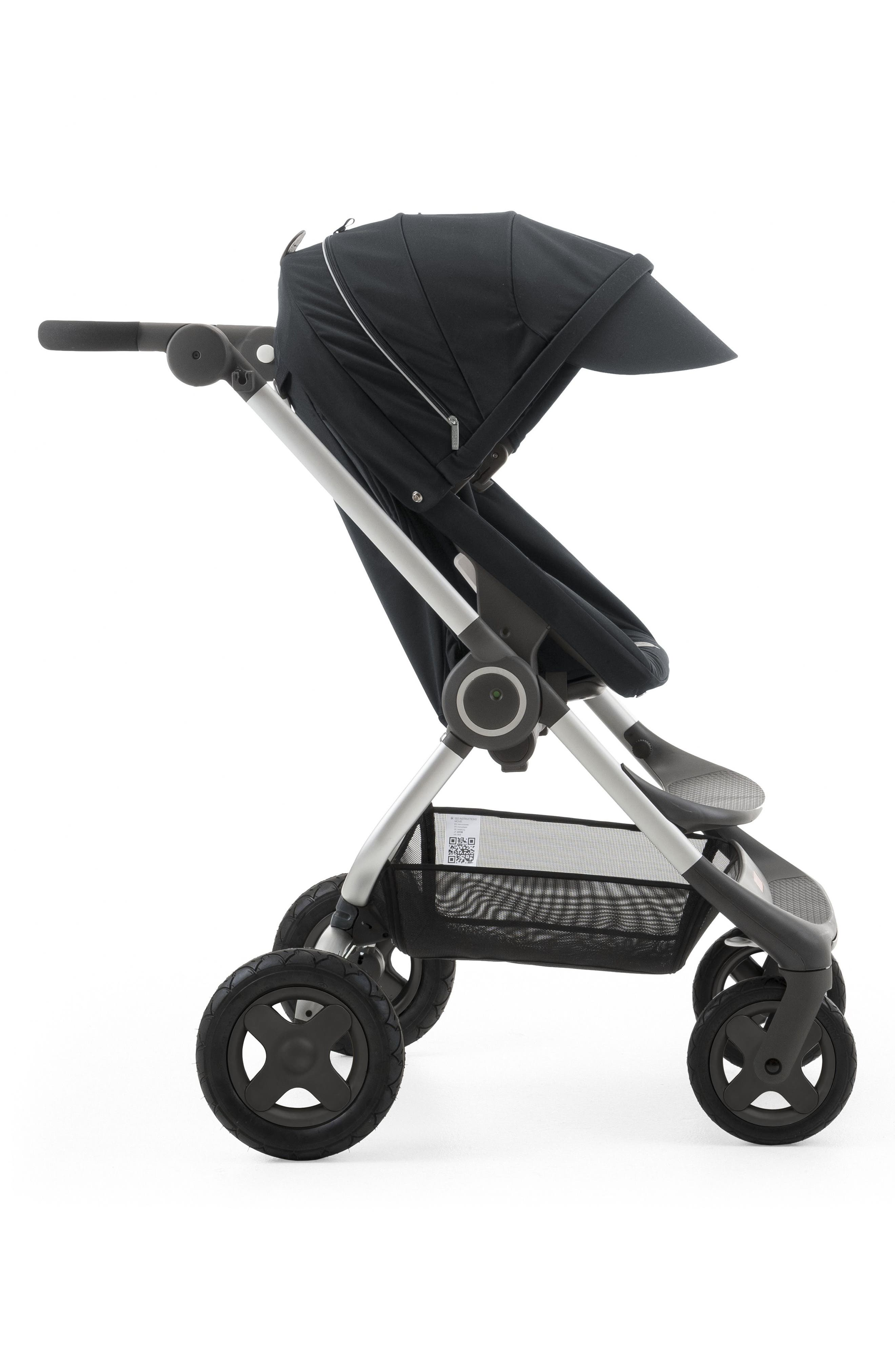 Scoot<sup>™</sup> Complete Stroller,                             Alternate thumbnail 3, color,                             Black