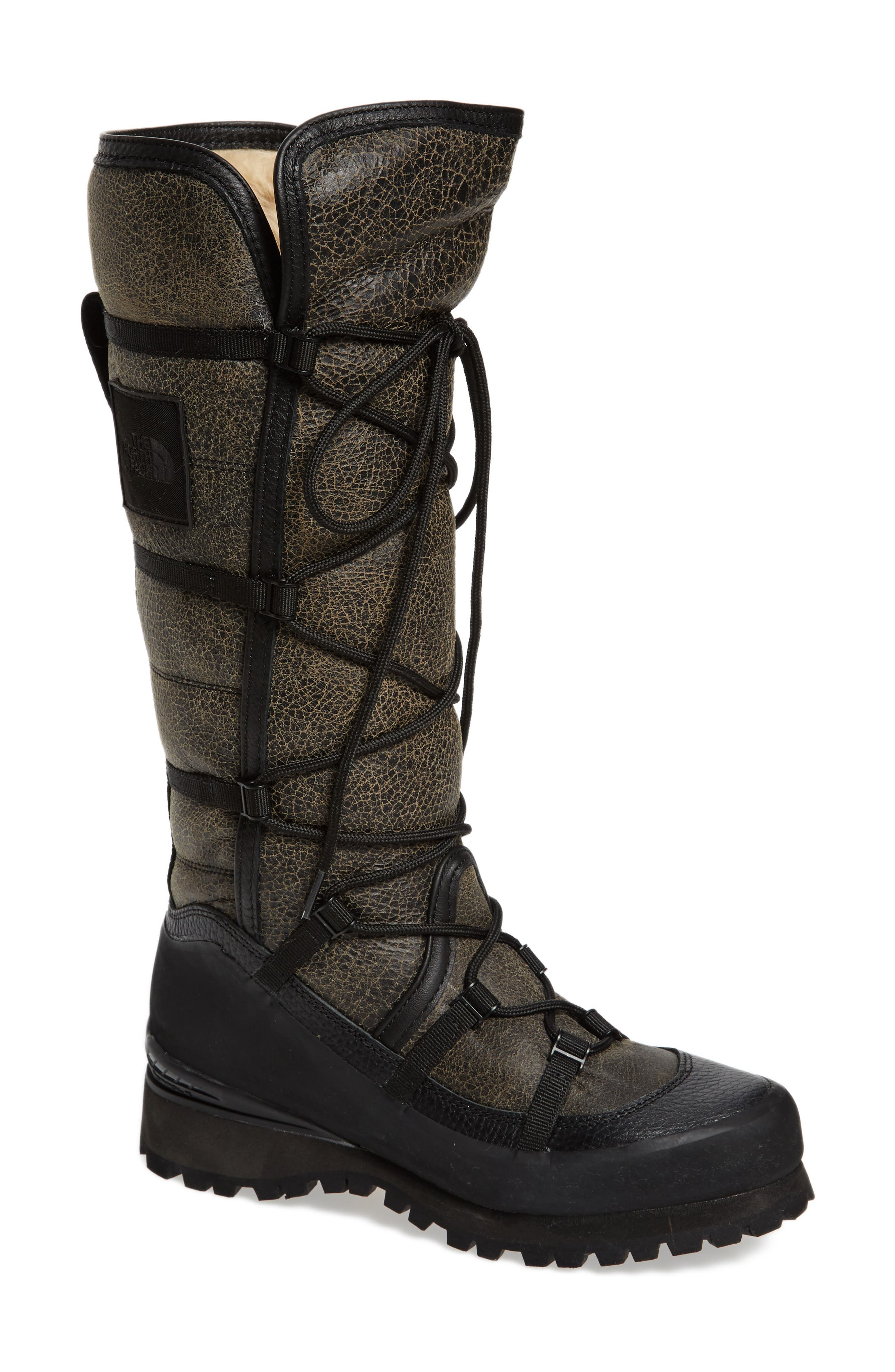 The North Face Cryos Knee High Genuine Shearling Boot (Women)
