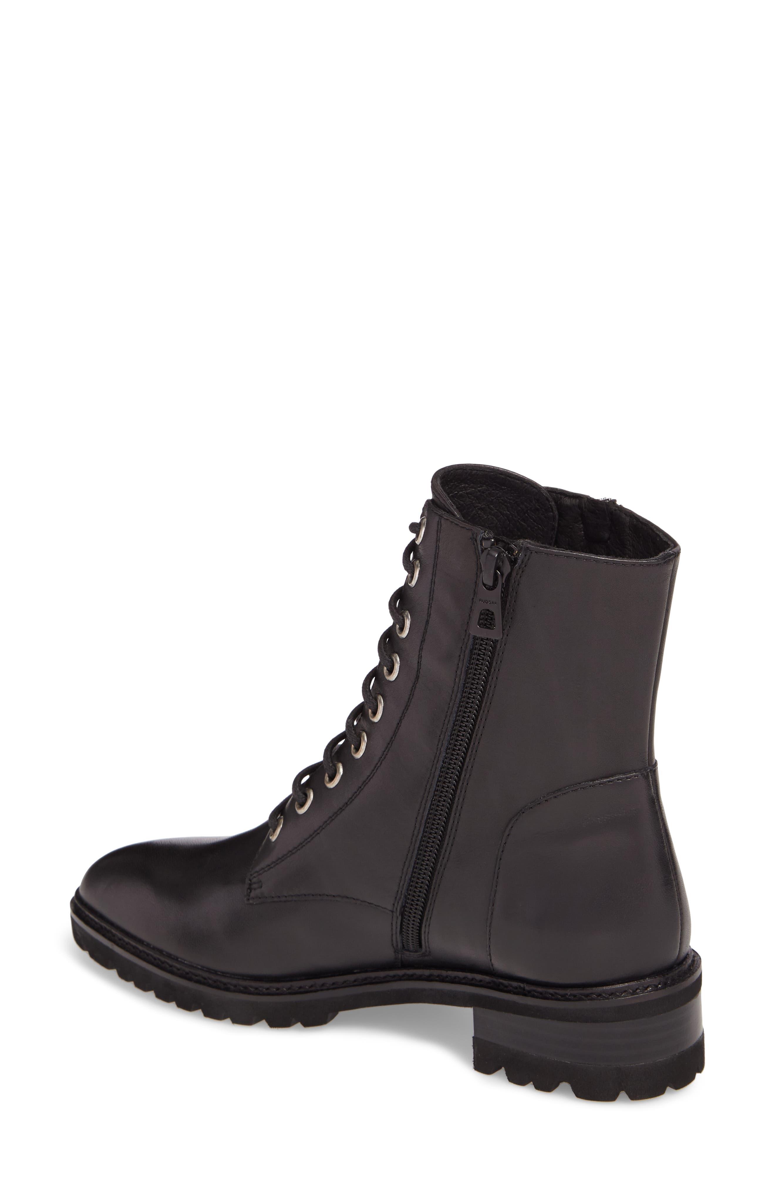 Tempt Boot,                             Alternate thumbnail 2, color,                             Black Leather
