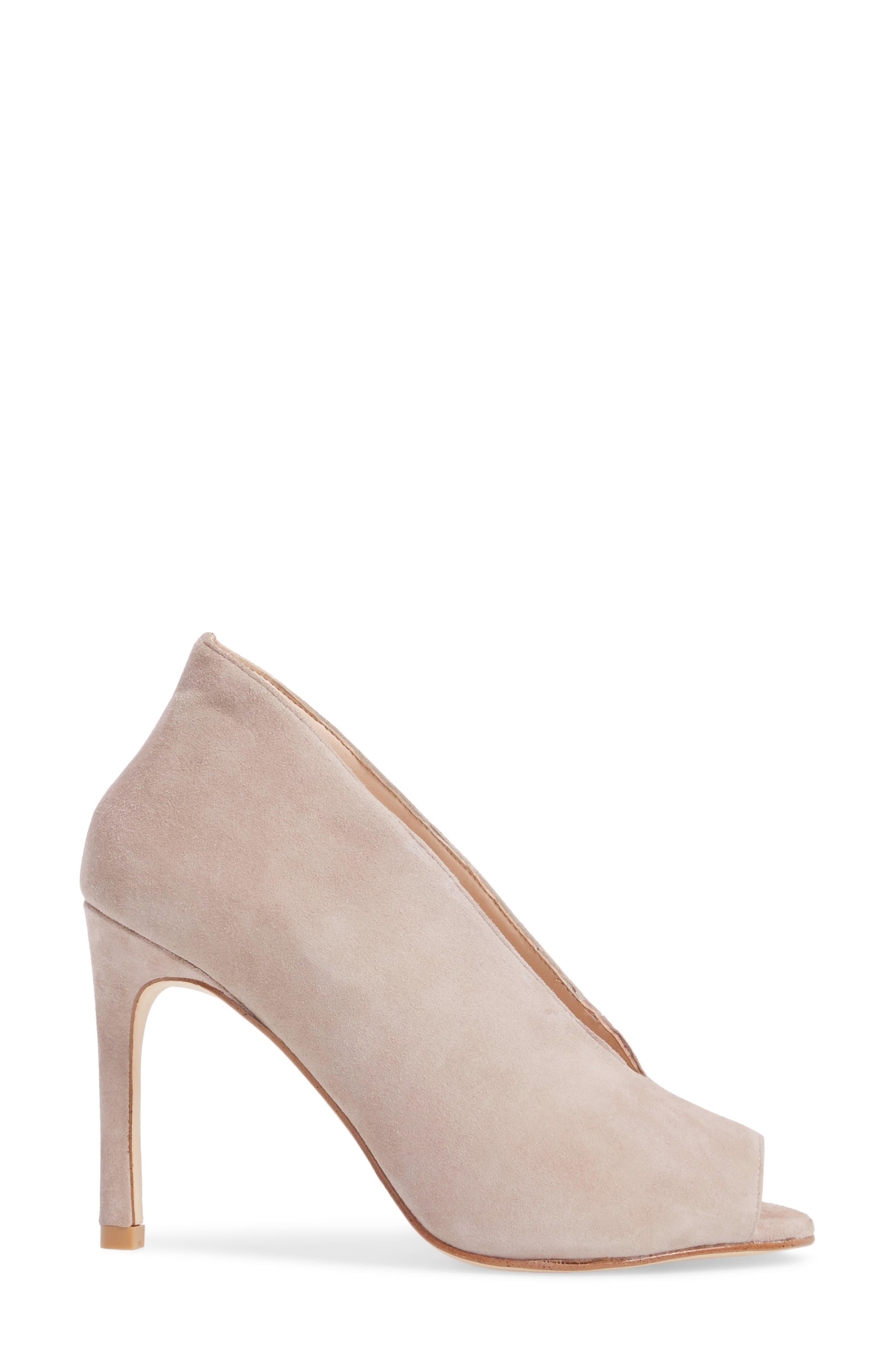 Alternate Image 3  - Pelle Moda Elvia Peep Toe Pump (Women)