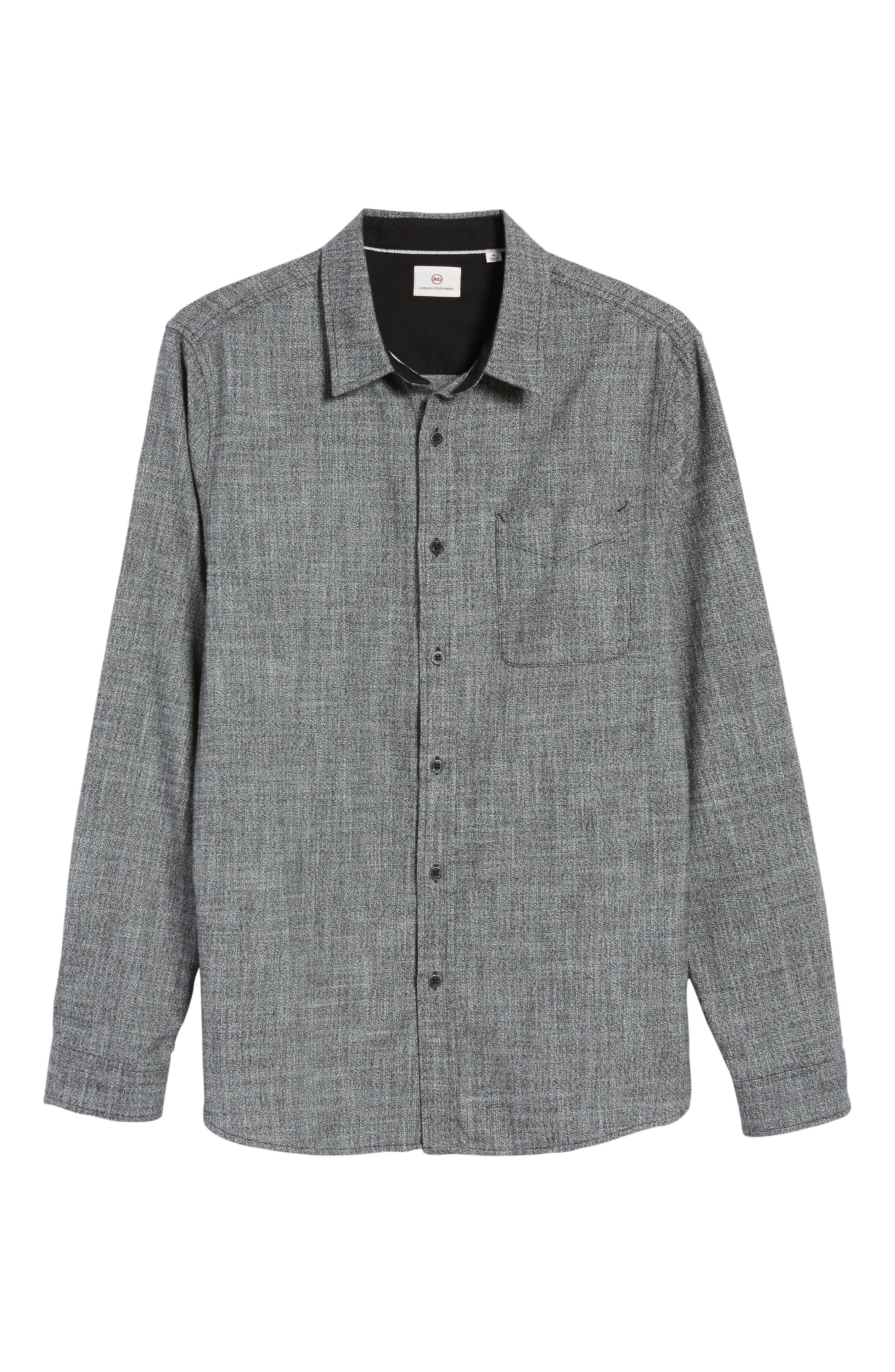 Alternate Image 6  - AG Colton Slim Fit Sport Shirt