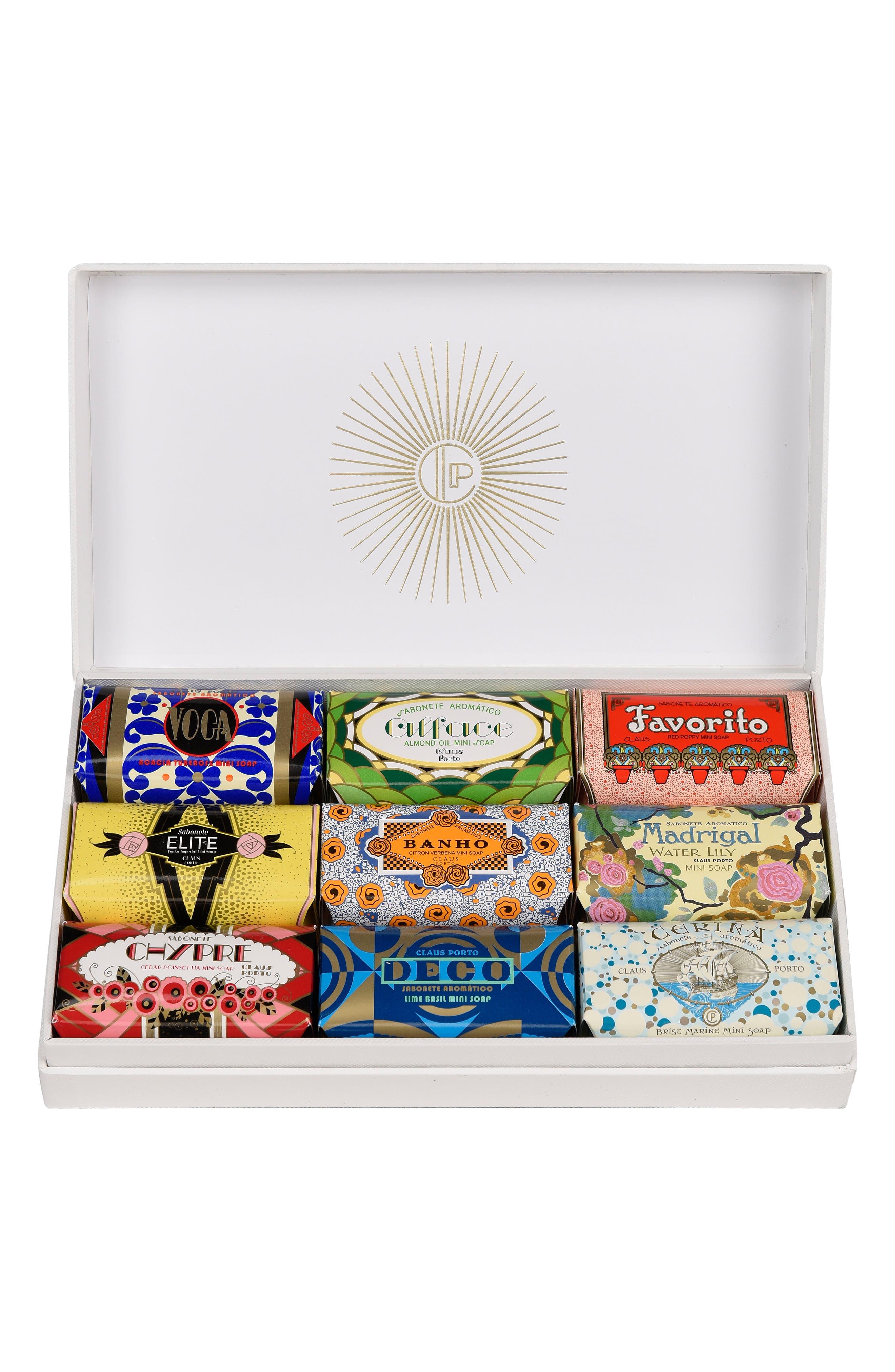 Claus Porto Deco Mini Soap Collection