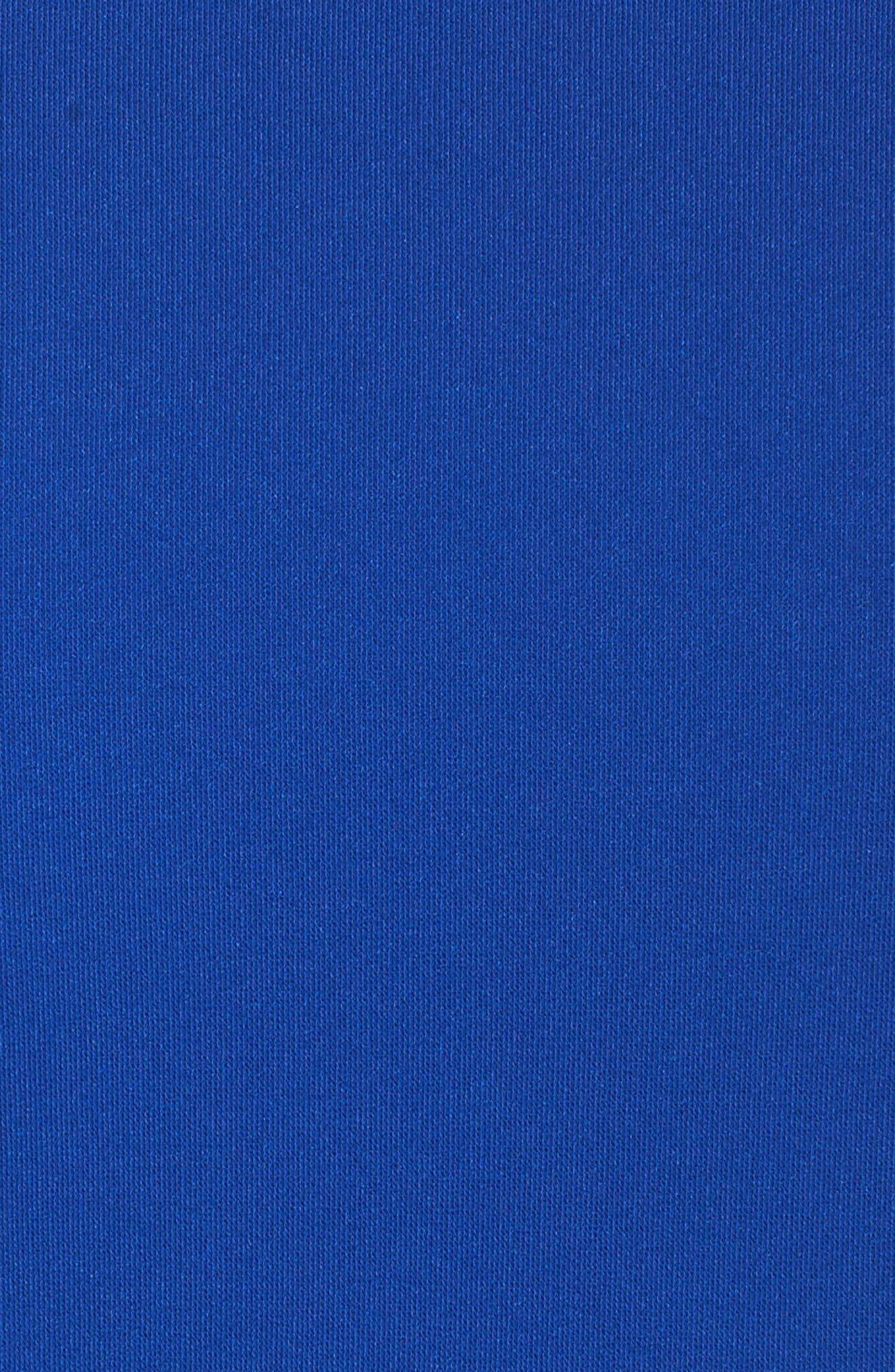 Cold Shoulder Sheath Dress,                             Alternate thumbnail 5, color,                             Cobalt