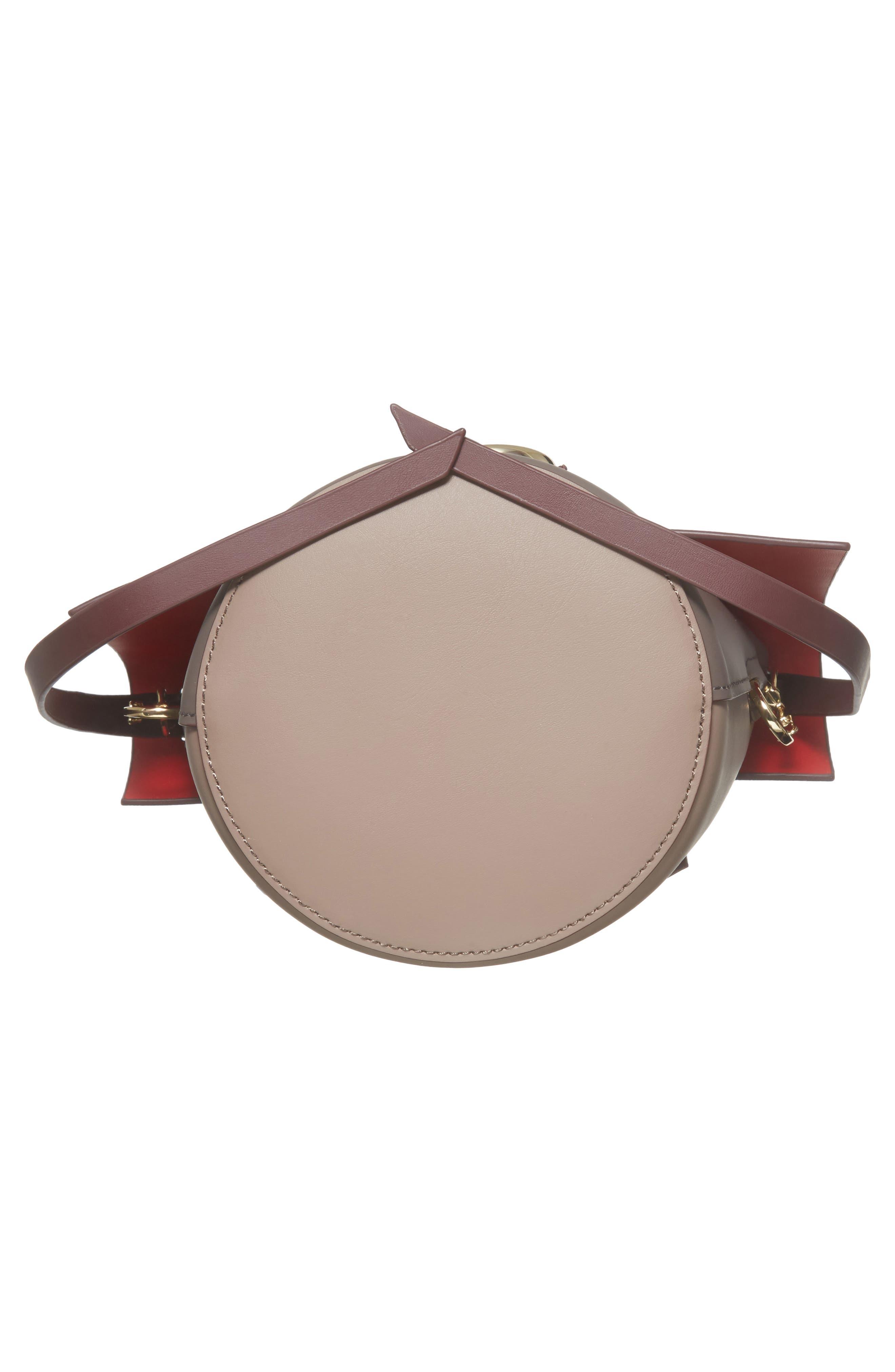 Alternate Image 5  - ZAC Zac Posen Belay Colorblocked Leather Crossbody Bucket Bag