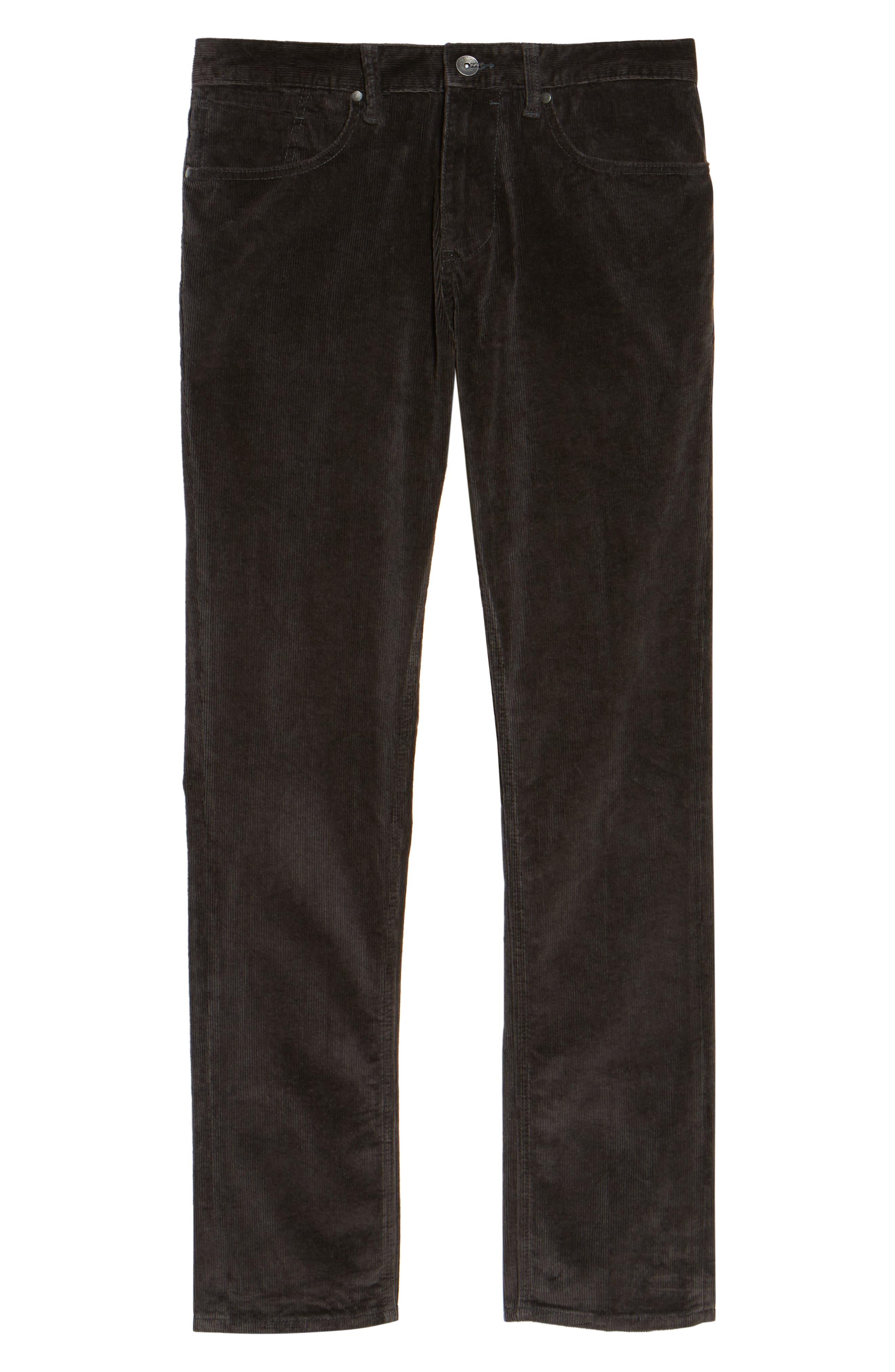 Outsider Corduroy Pants,                             Alternate thumbnail 4, color,                             Charcoal