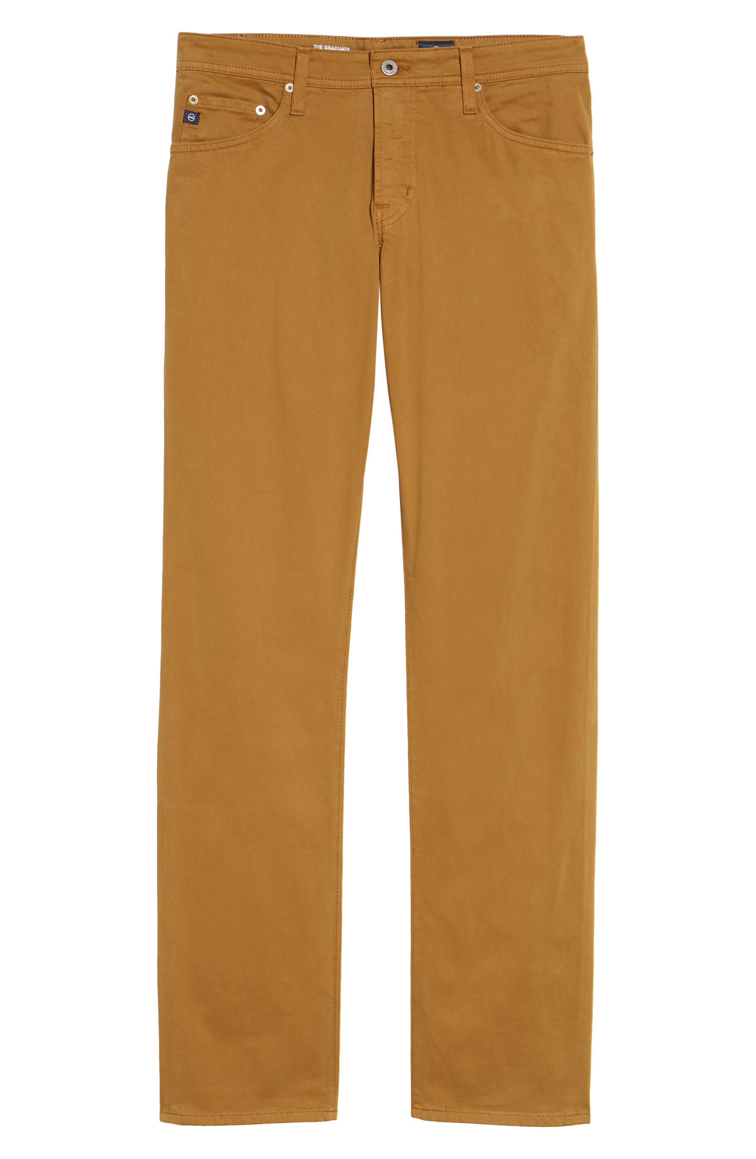 Graduate SUD Slim Straight Leg Pants,                             Alternate thumbnail 6, color,                             Burnt Saffron (Bfn)