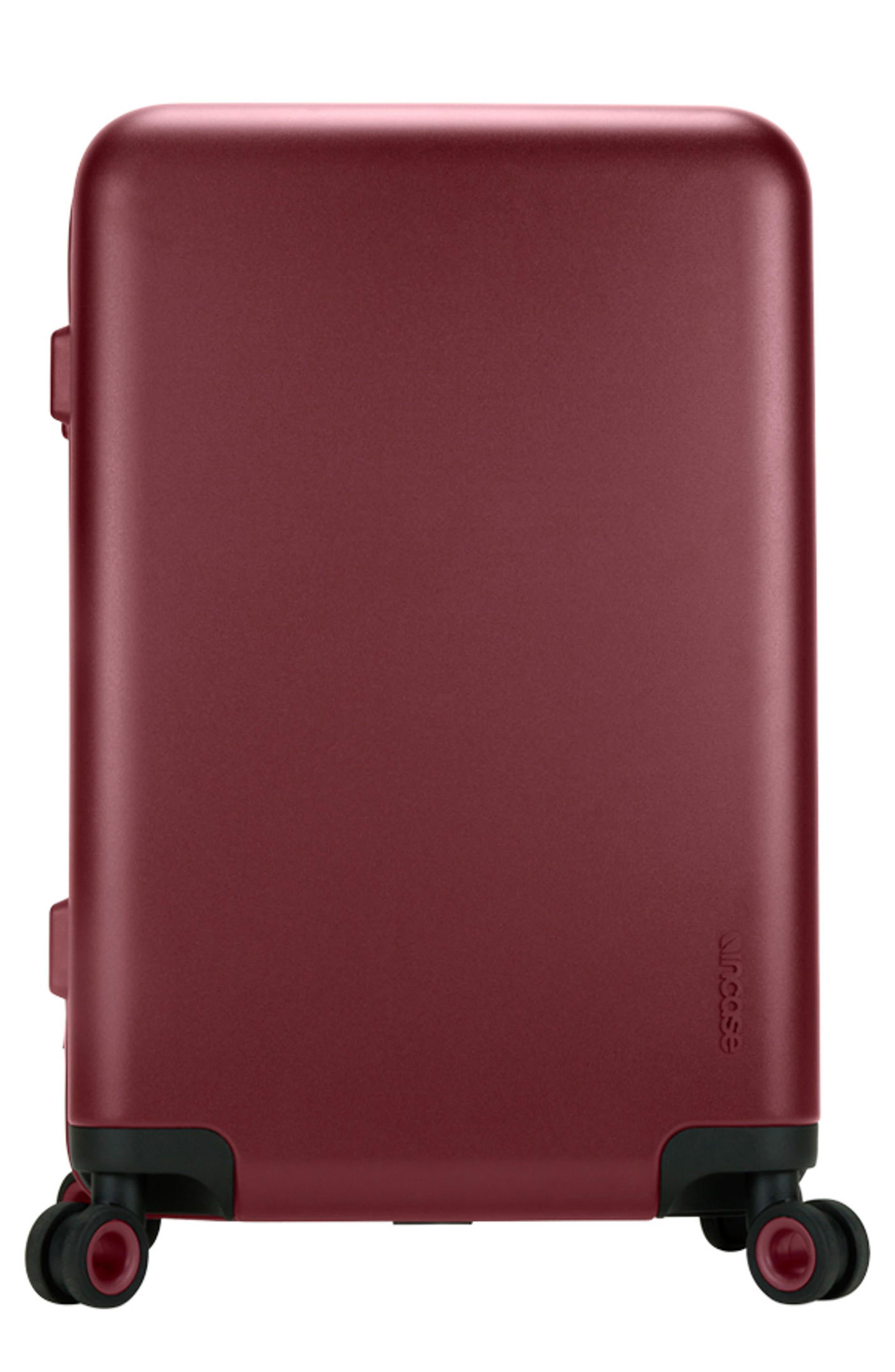 NOVI 31-Inch Hardshell Wheeled Packing Case,                             Main thumbnail 1, color,                             Deep Red
