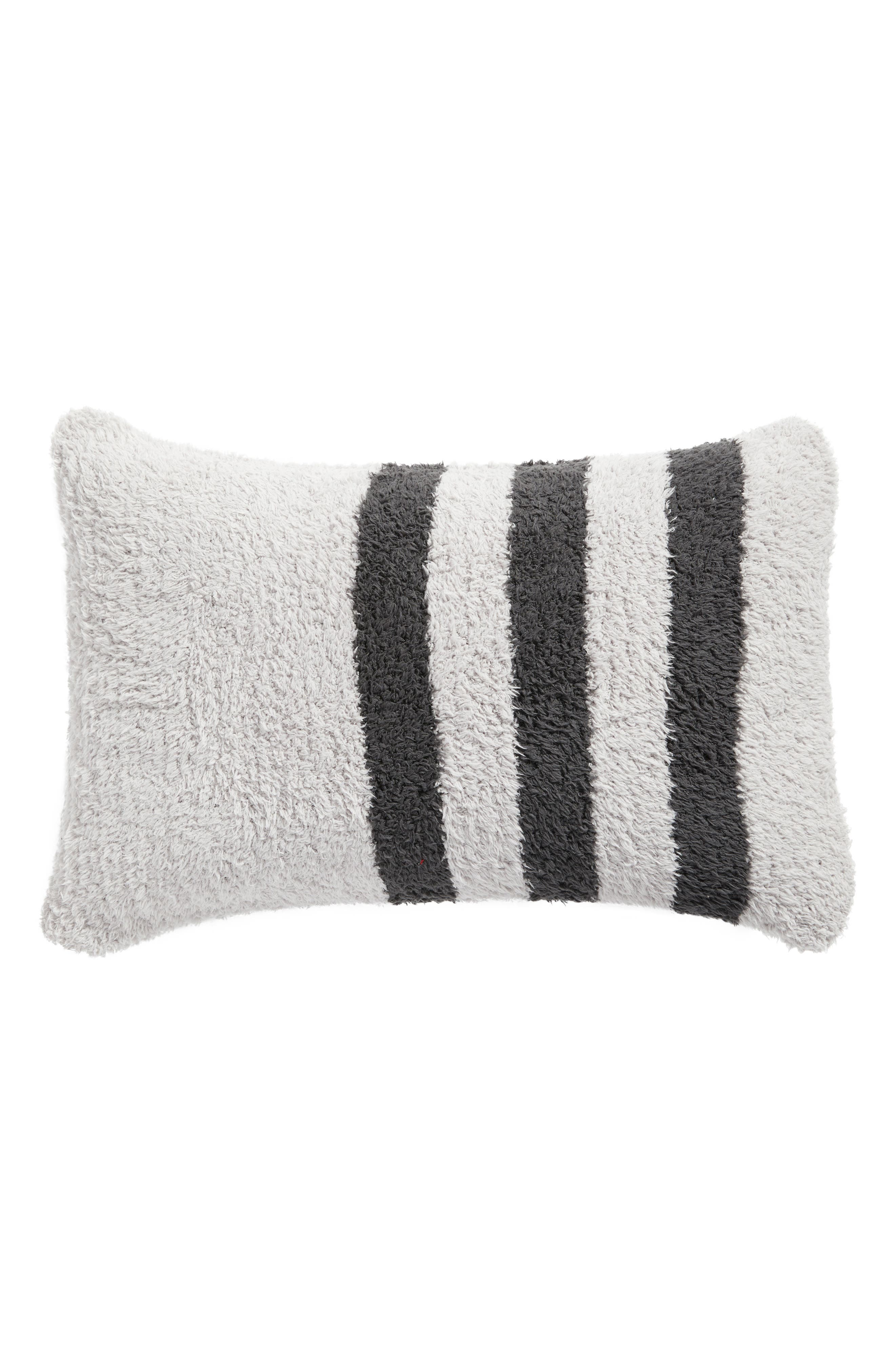 Main Image - Barefoot Dreams® Cozychic® Tri-Stripe Accent Pillow