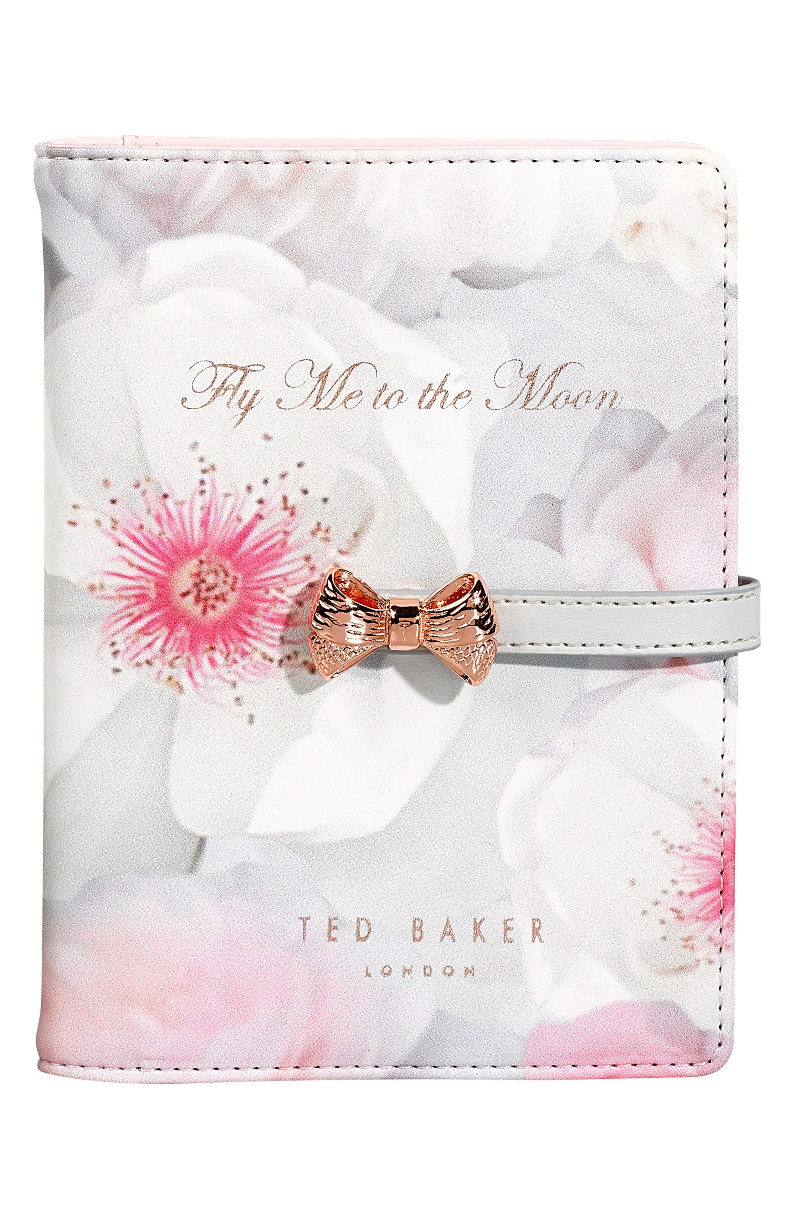 Ted Baker London Fly Me To The Moon Passport Holder