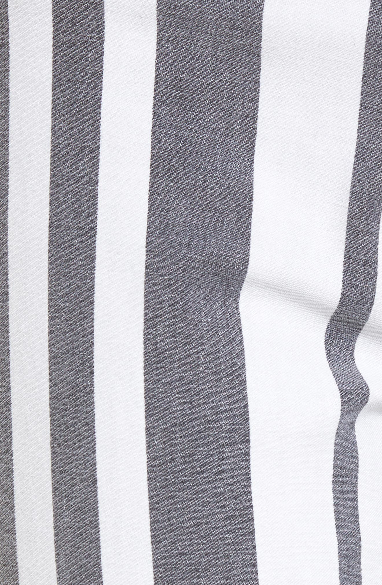 Barbara High Waist Ankle Super Skinny Jeans,                             Alternate thumbnail 5, color,                             Undertaking
