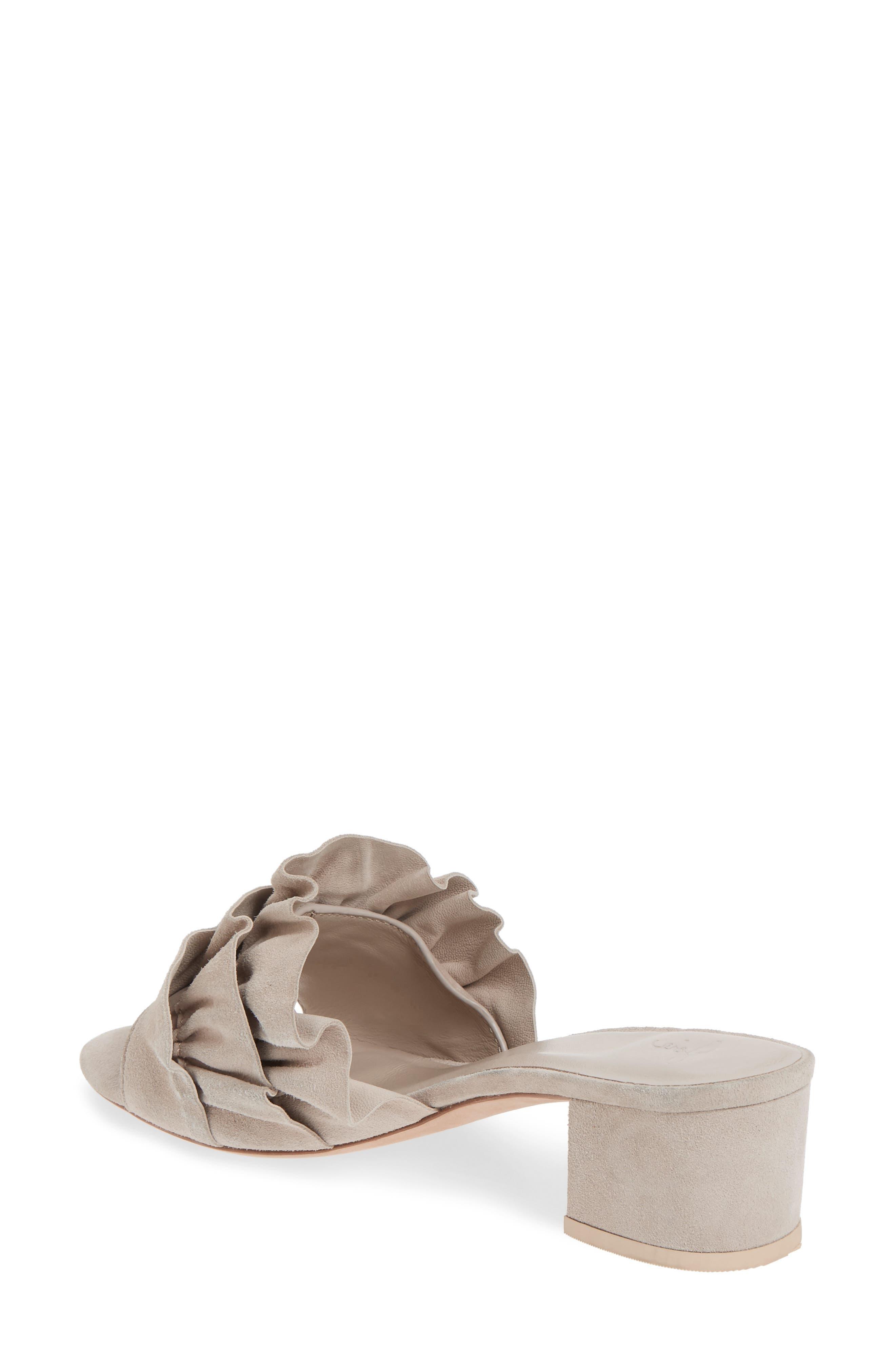 Alternate Image 2  - Joie Mai Ruffle Slide Sandal (Women)