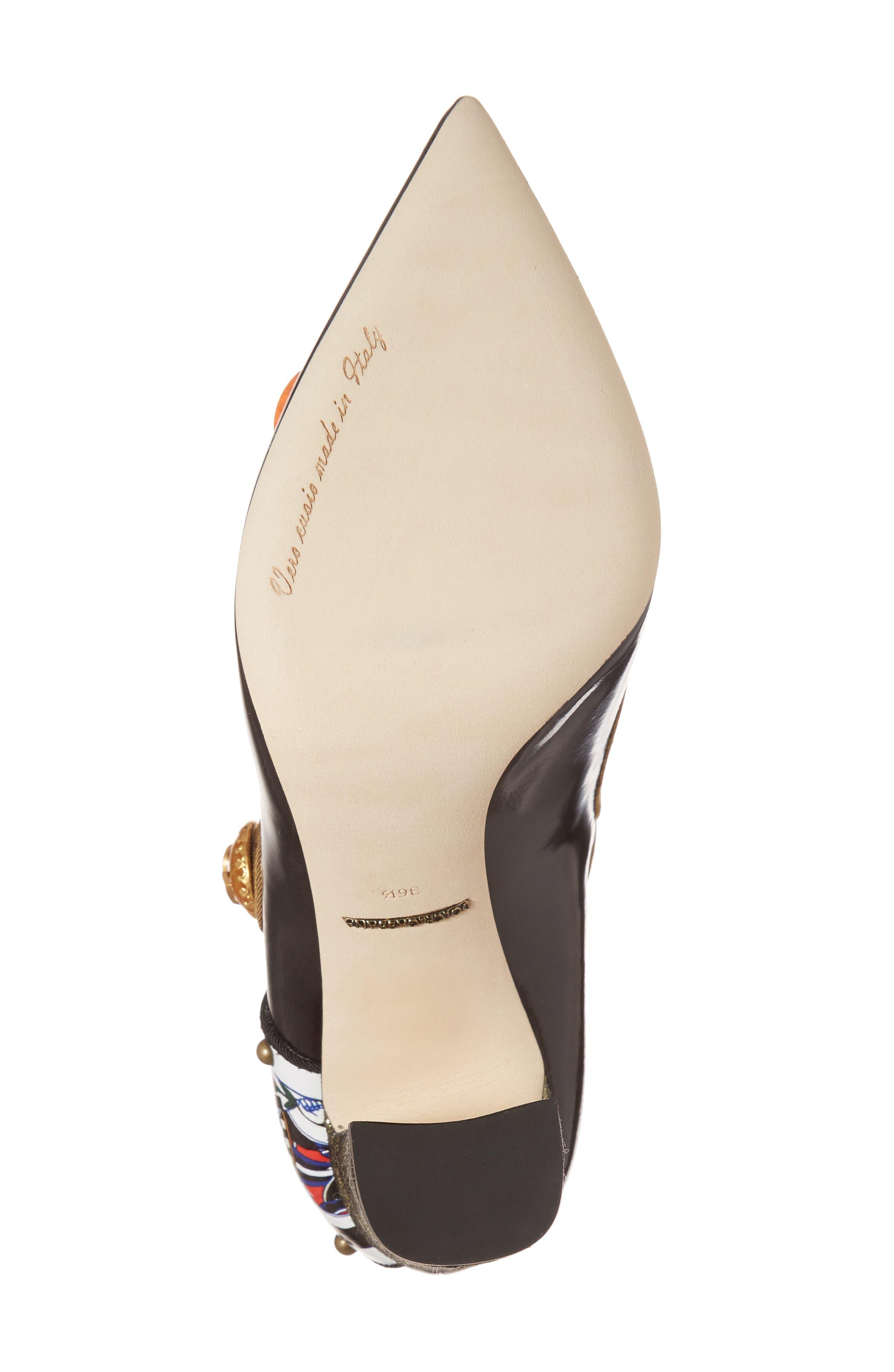 Alternate Image 6  - Dolce&Gabbana Embellished Mary Jane Pump (Women)