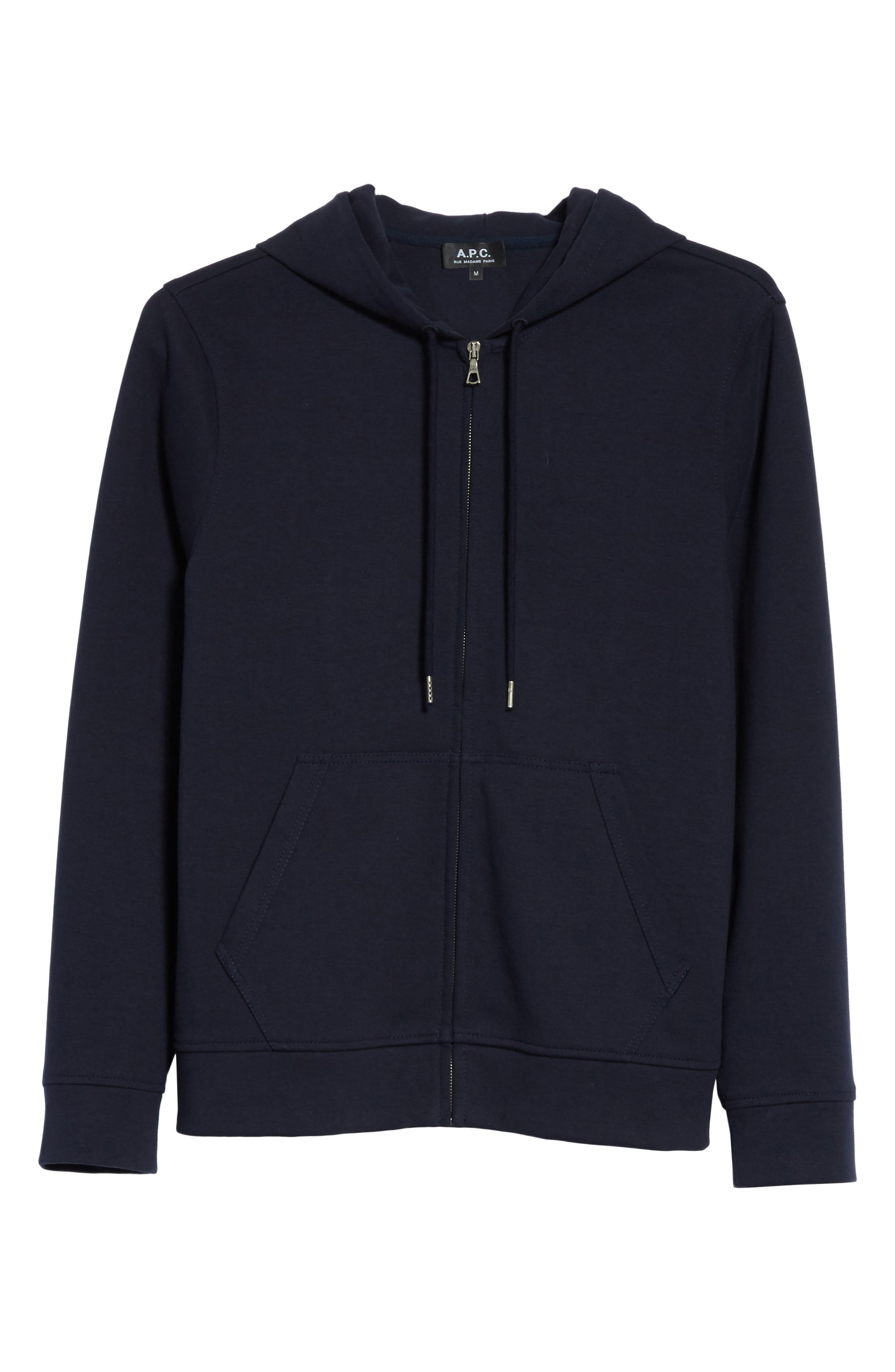 Alternate Image 6  - A.P.C. Roadie Zip Hoodie