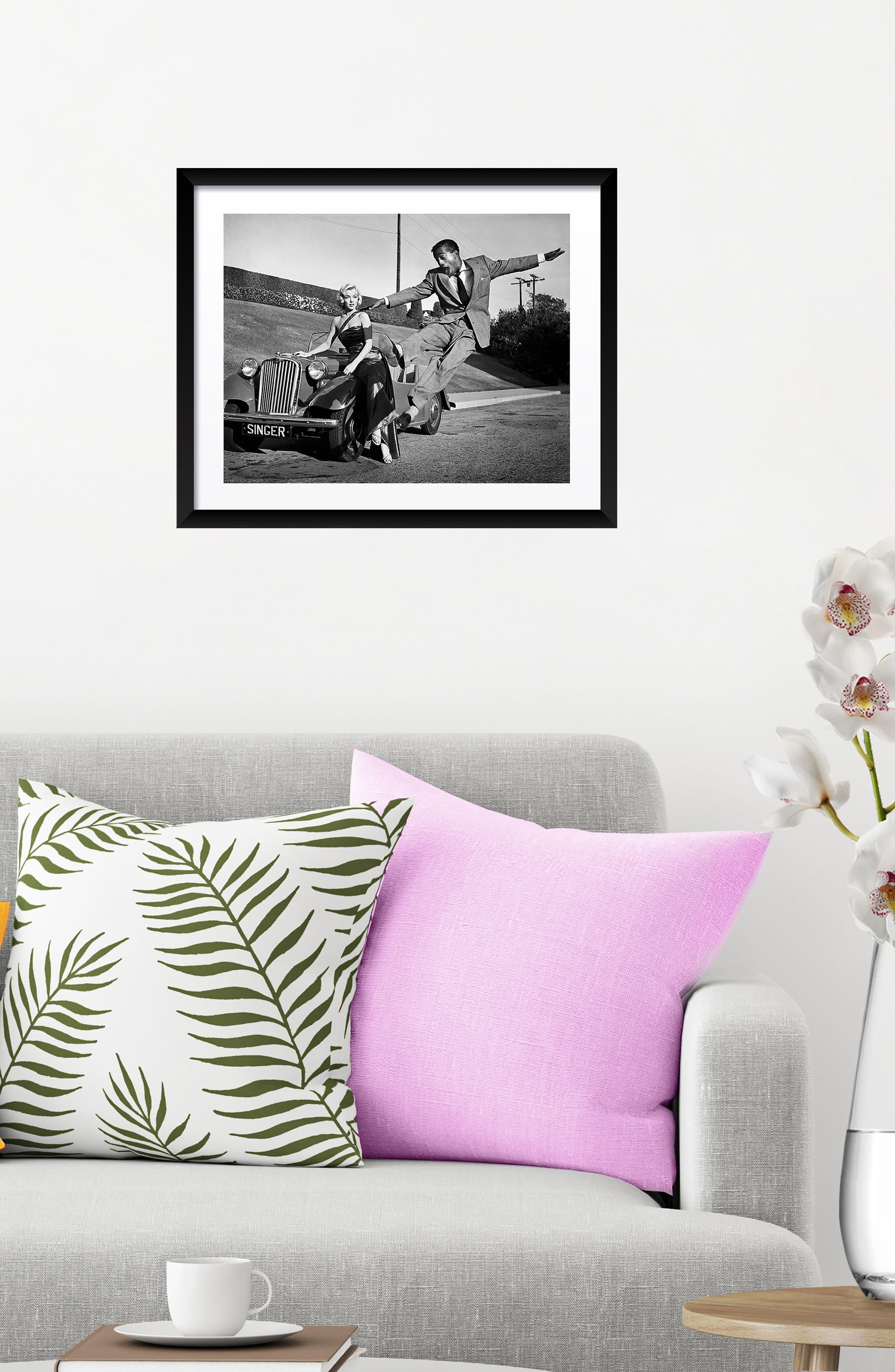 Alternate Image 2  - Artography Limited Marilyn Monroe & Sammy Davis Jr. Fine Art Print