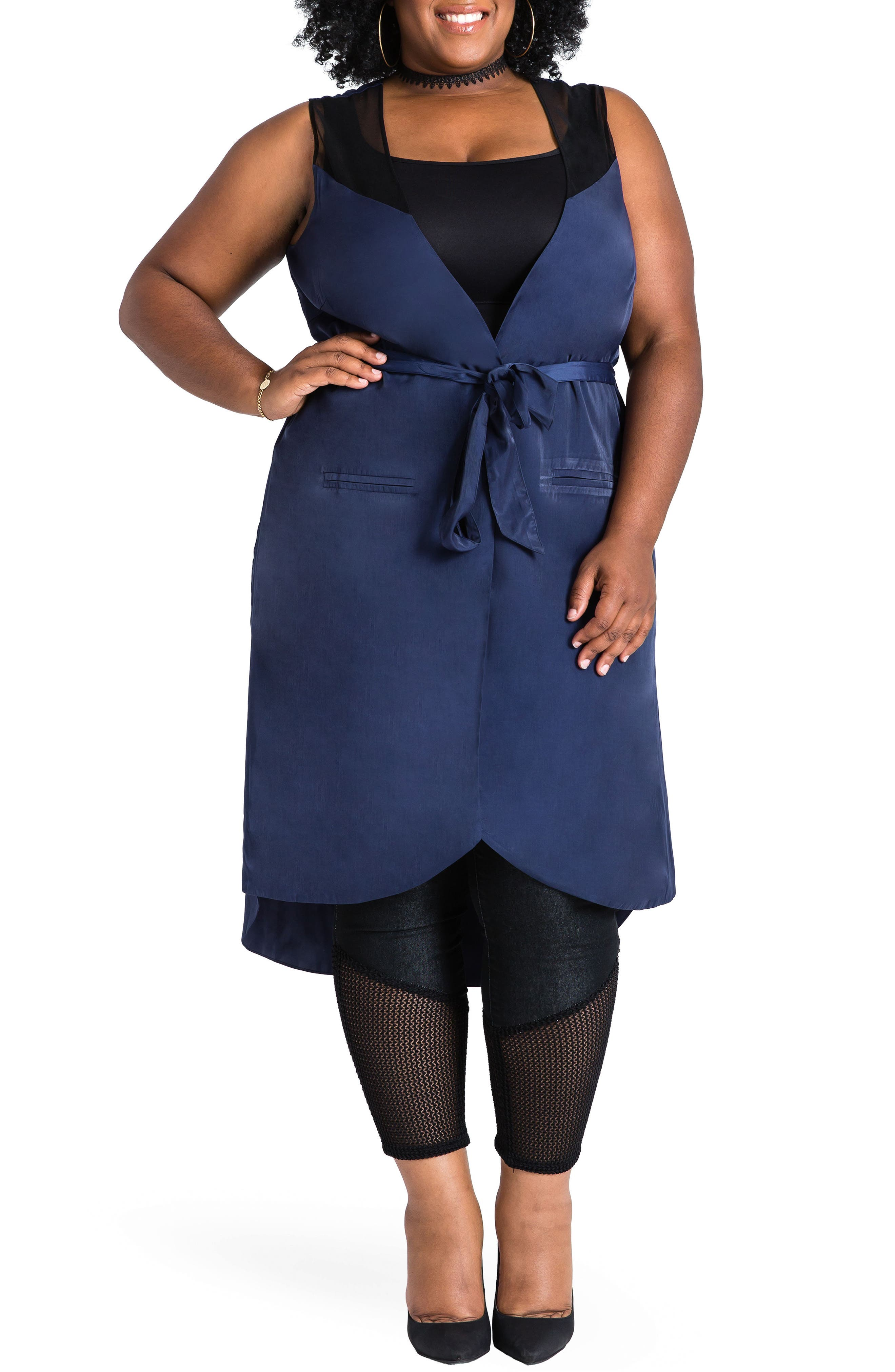 Poetic Justice Tamra Jacket (Plus Size)