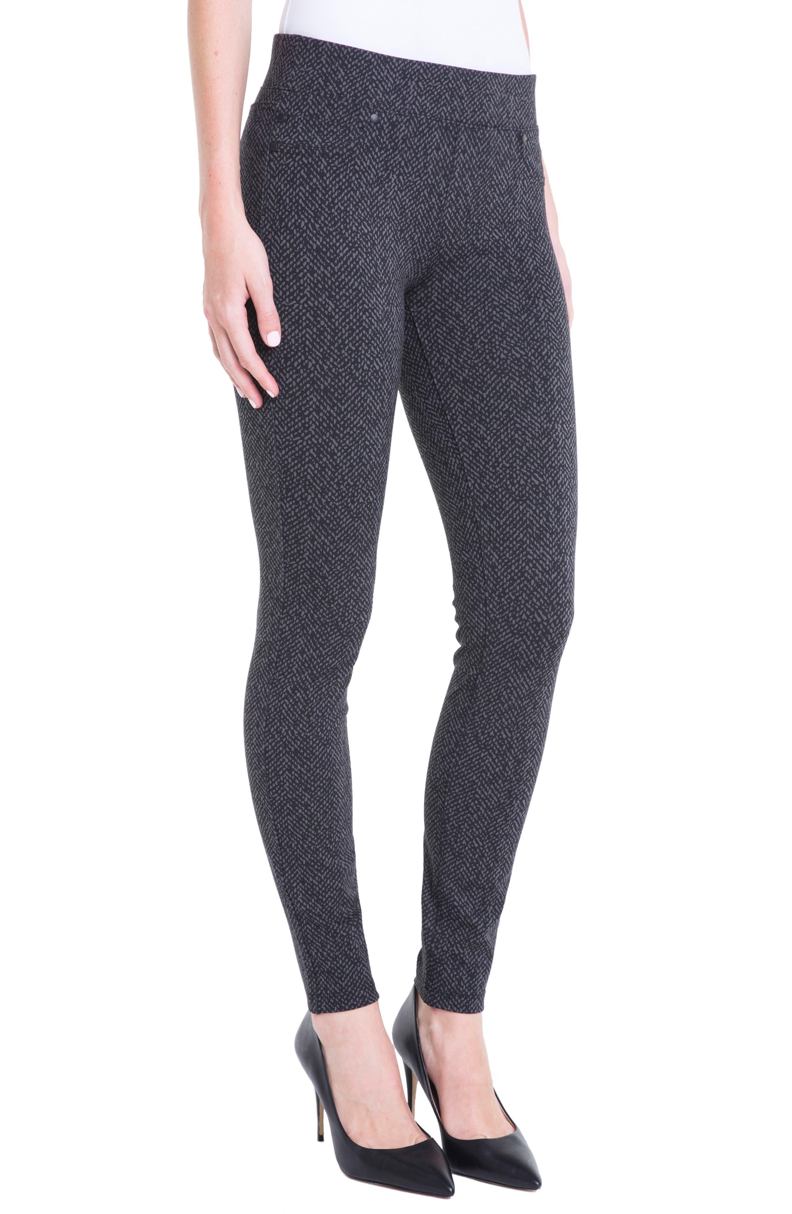Sienna Pull-On Leggings,                         Main,                         color, Magnet Herringbone Tweed
