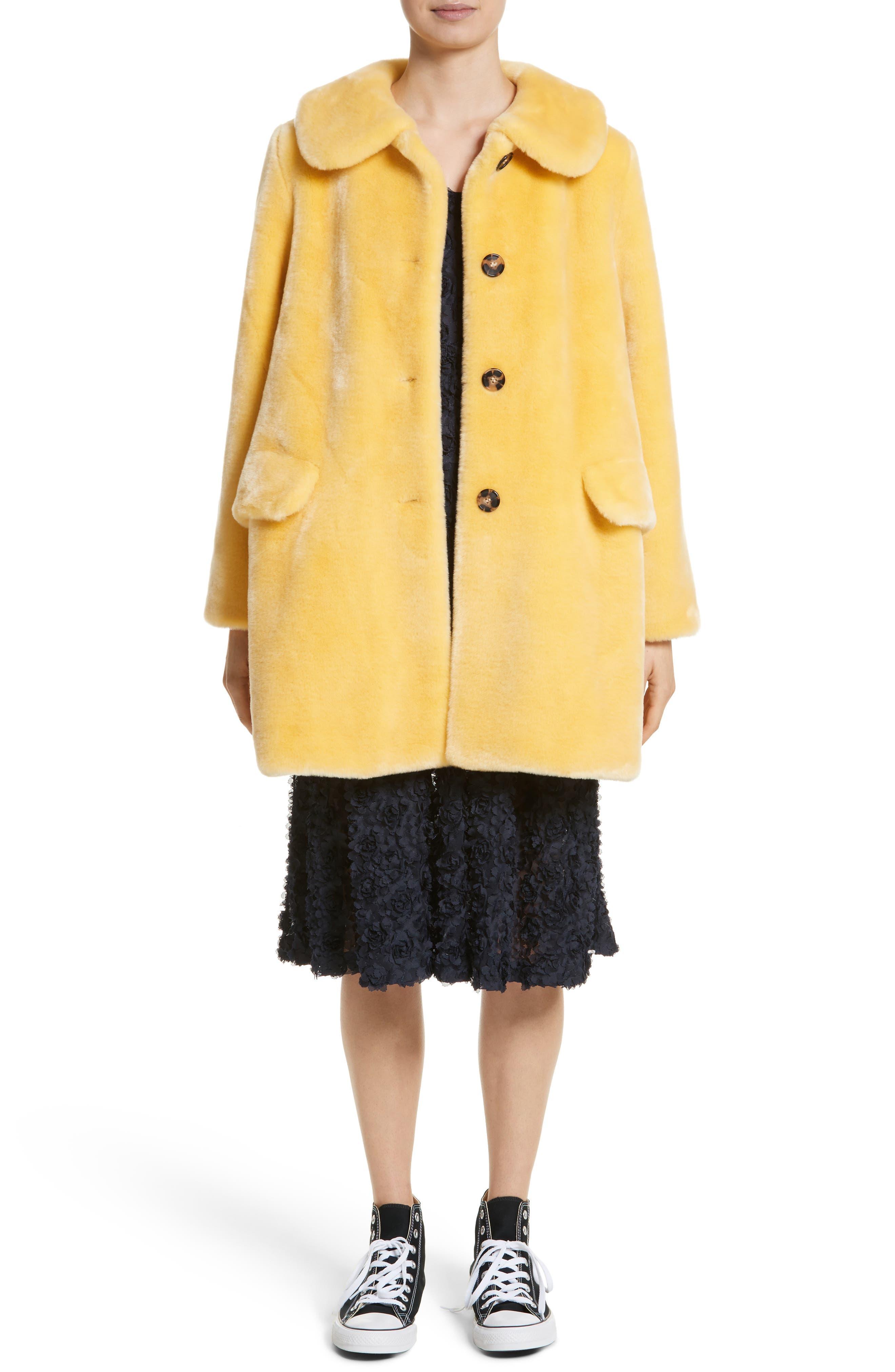 Alternate Image 7  - Shrimps Pyrus Oversized Faux Fur Coat
