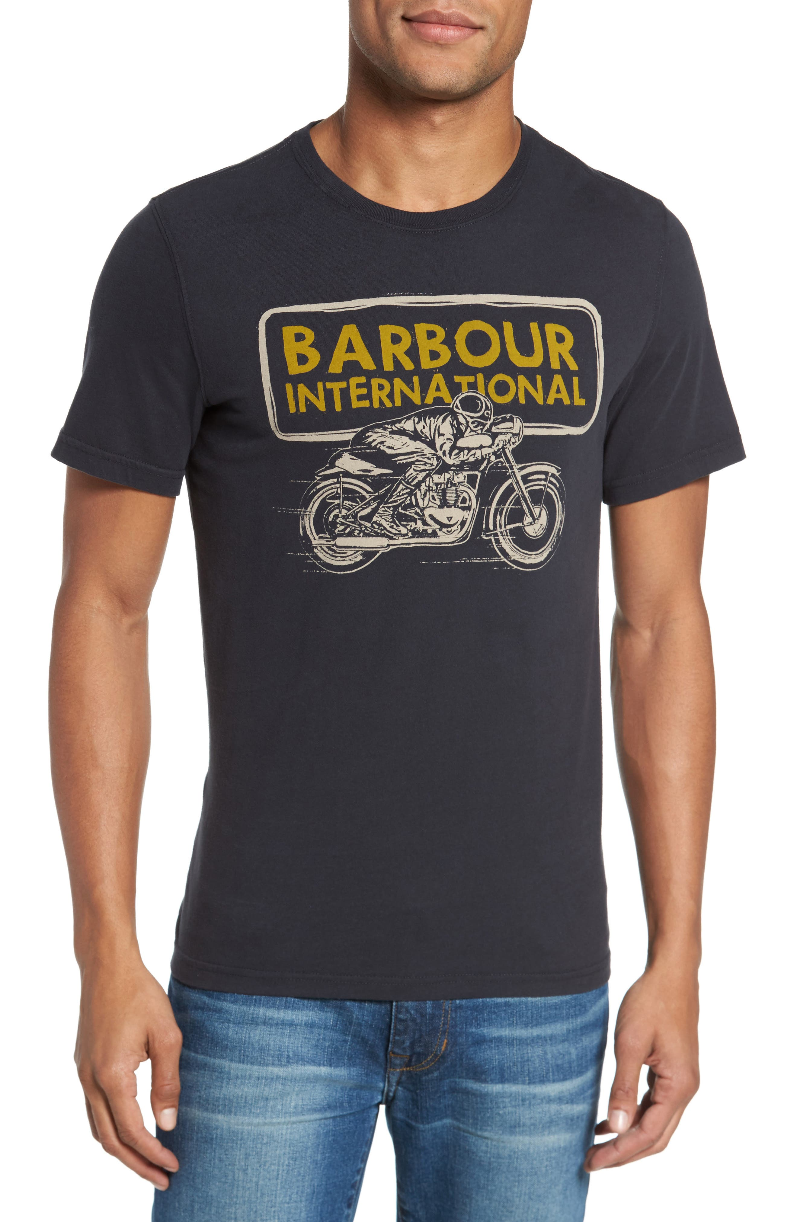 Alternate Image 1 Selected - Barbour Barbour International Pace T-Shirt