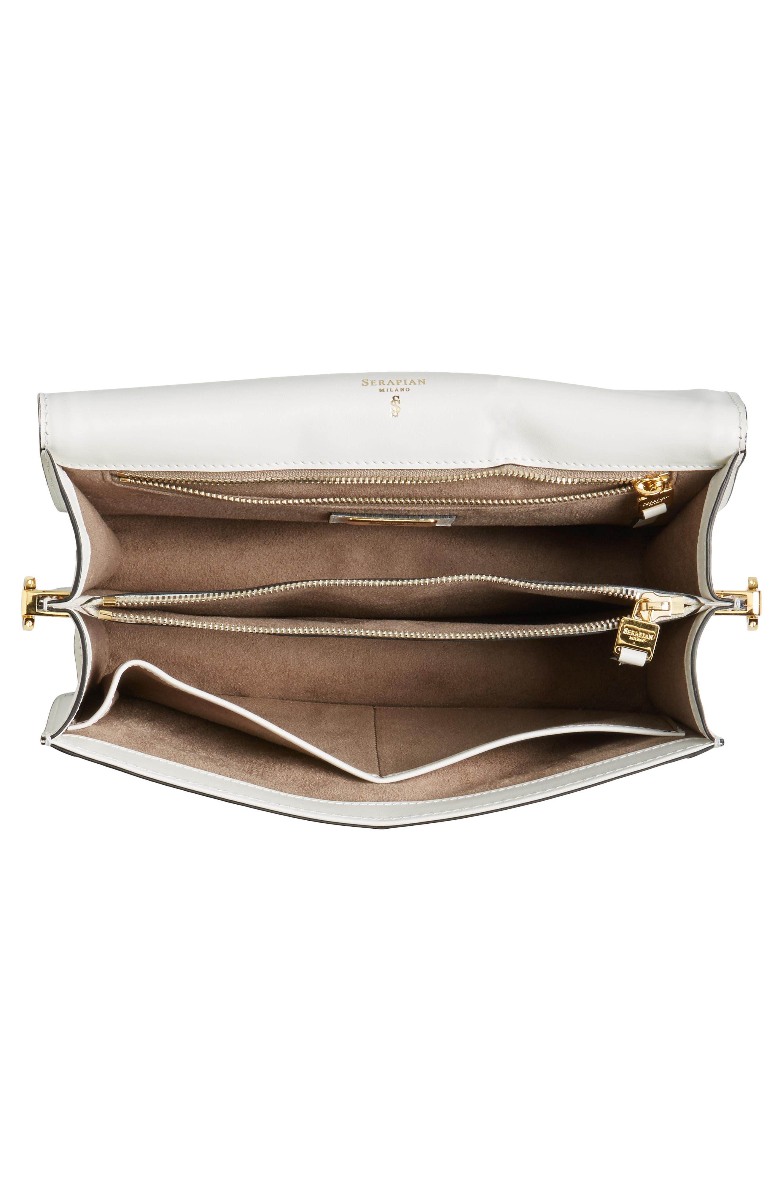 Alternate Image 4  - Serapian Milano Medium 1972 Leather Shoulder Bag