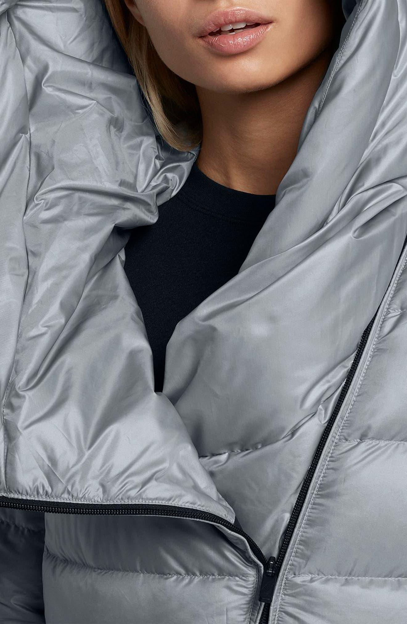 Alternate Image 5  - Nike Sportswear Women's Hooded Down Jacket