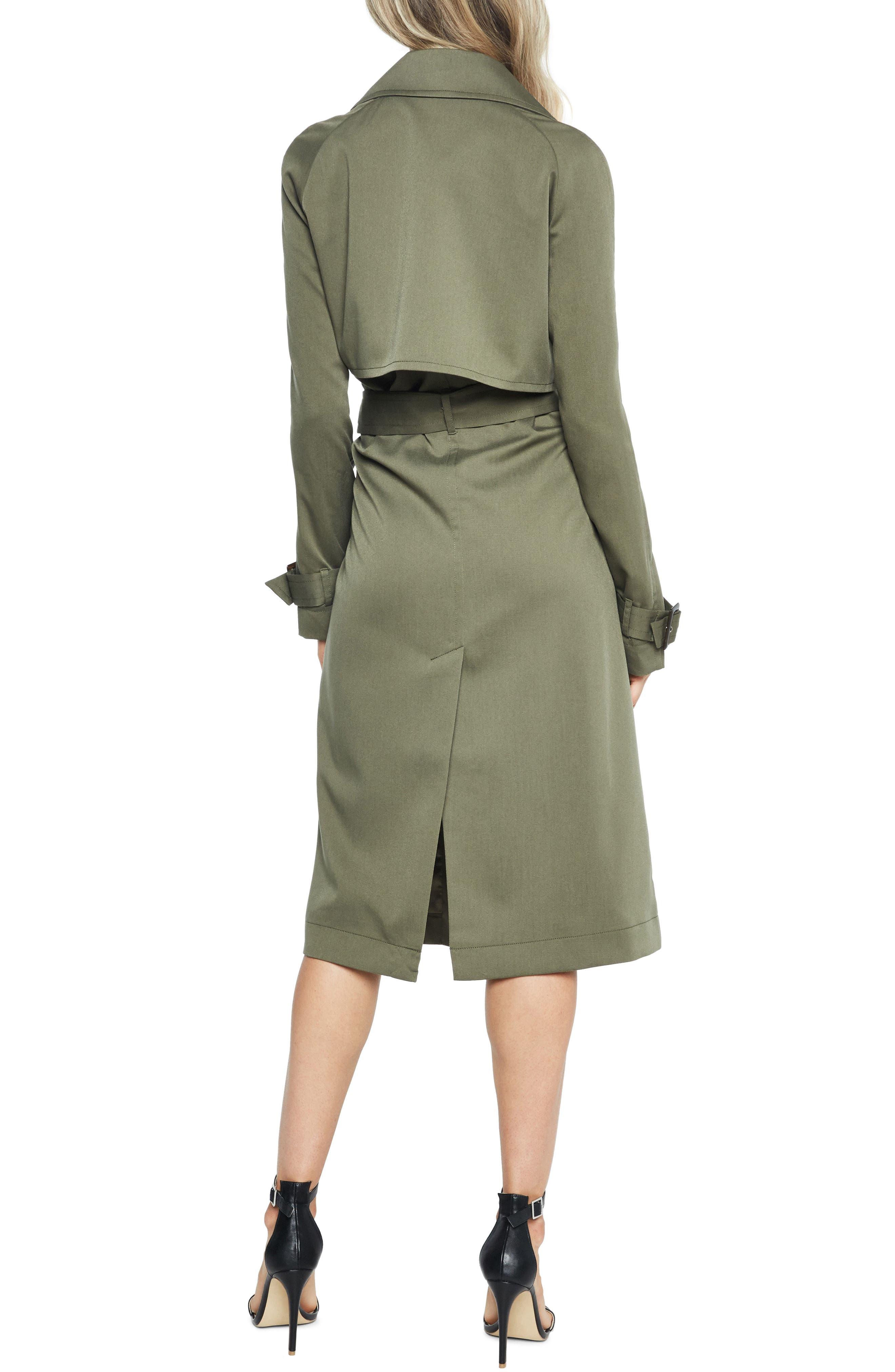 Alternate Image 2  - Bardot Military Trench Dress