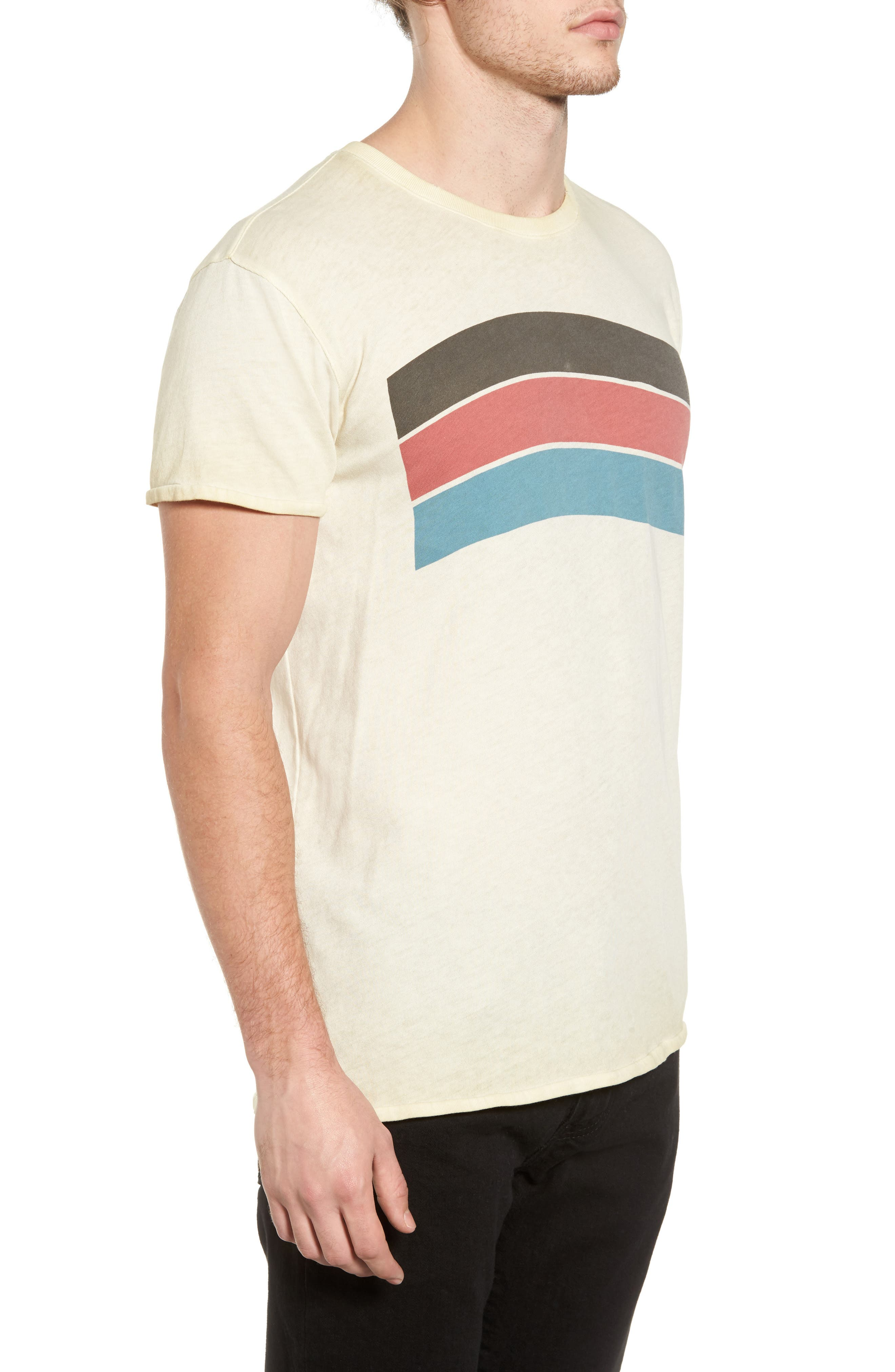 Washed Graphic T-Shirt,                             Alternate thumbnail 3, color,                             Ecru