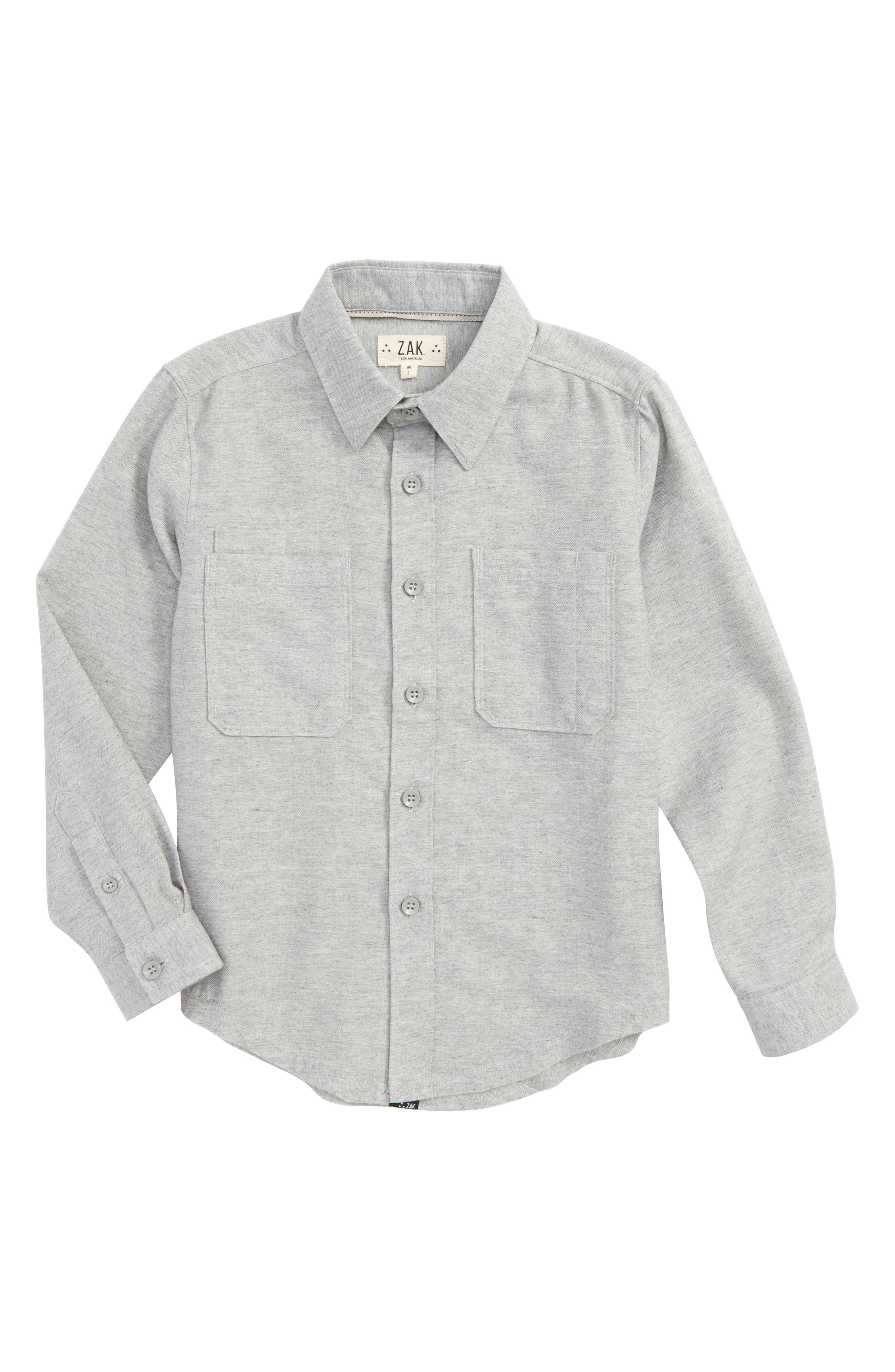 Graphic Plaid Shirt,                         Main,                         color, Grey
