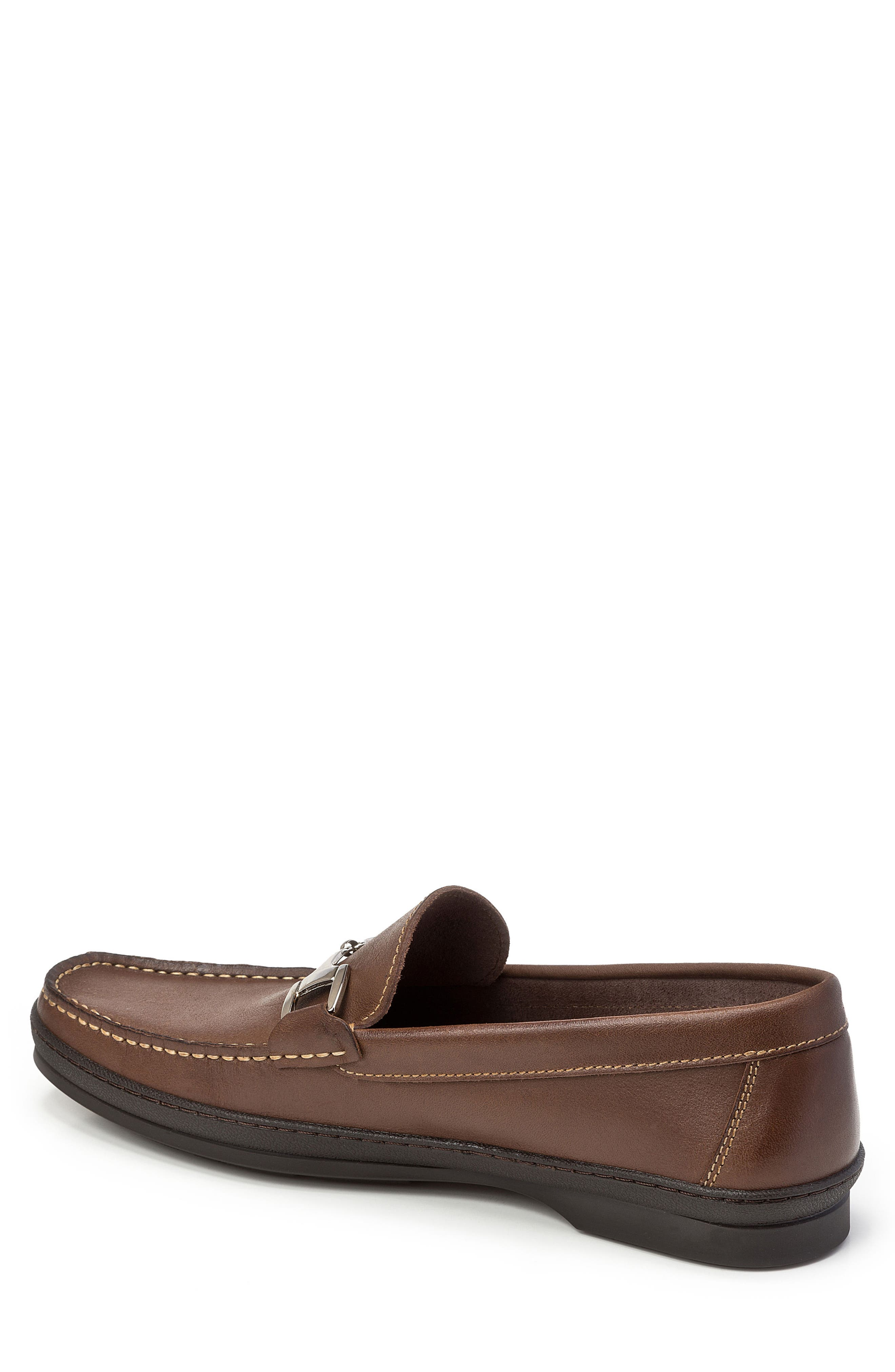 Navarro Bit Loafer,                             Alternate thumbnail 2, color,                             Brown Leather