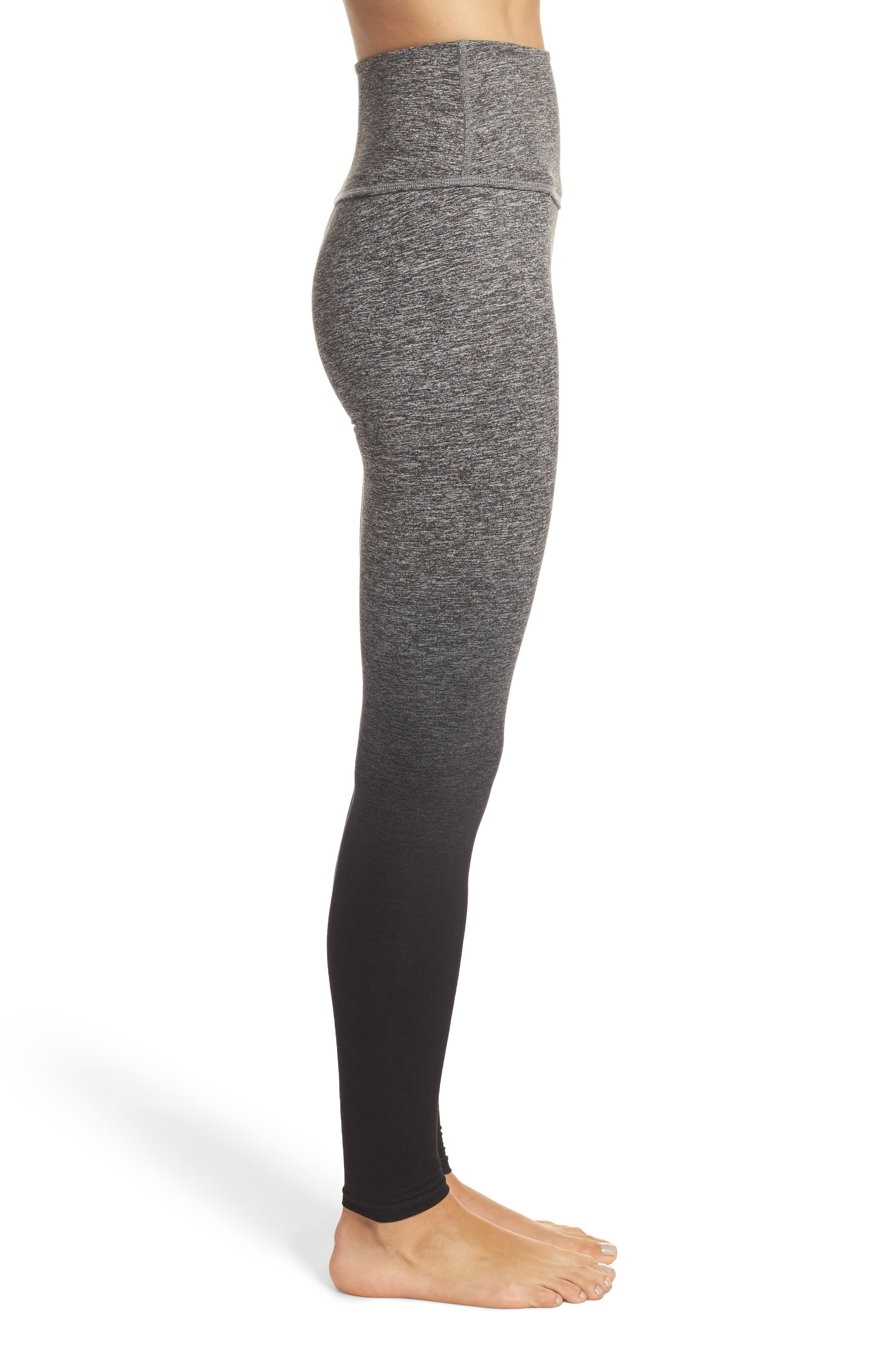 Alternate Image 3  - Beyond Yoga Space Dye High Waist Leggings