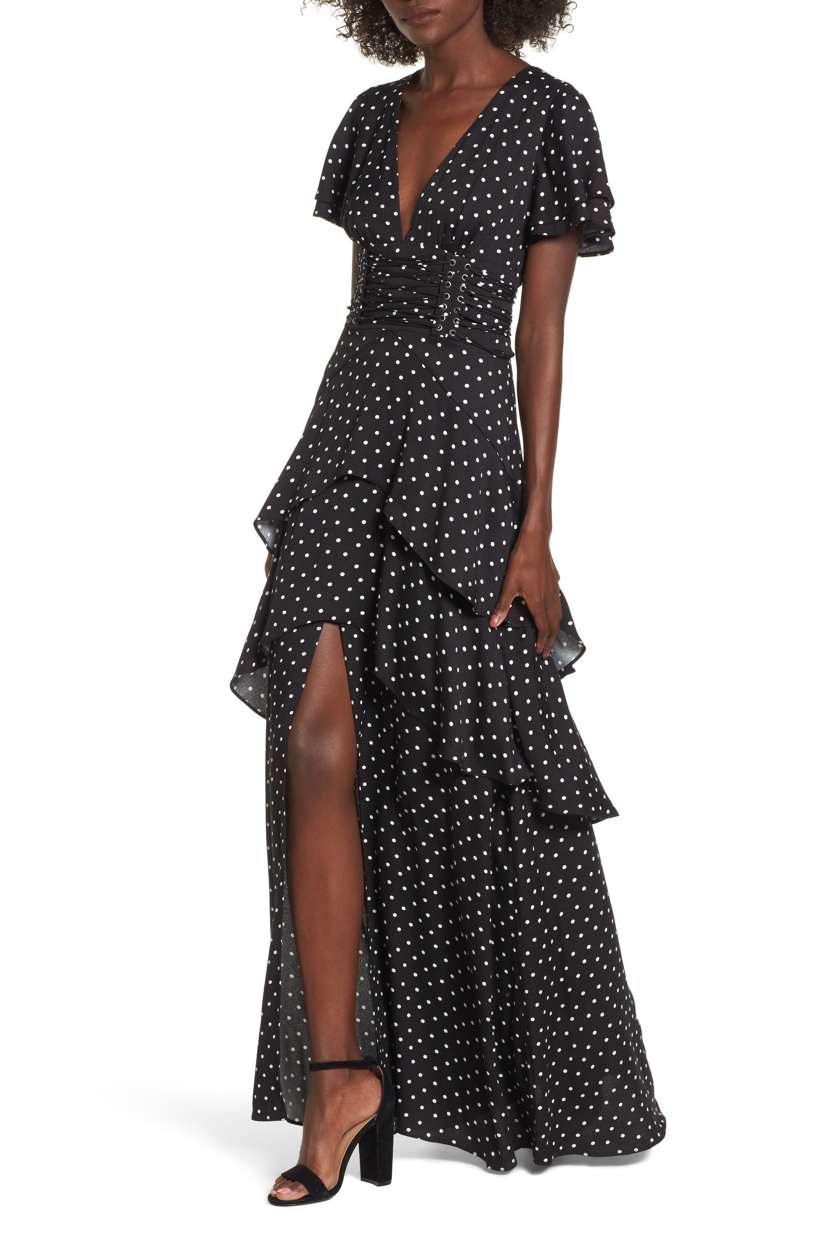 Main Image - AFRM Micah Corset Maxi Dress