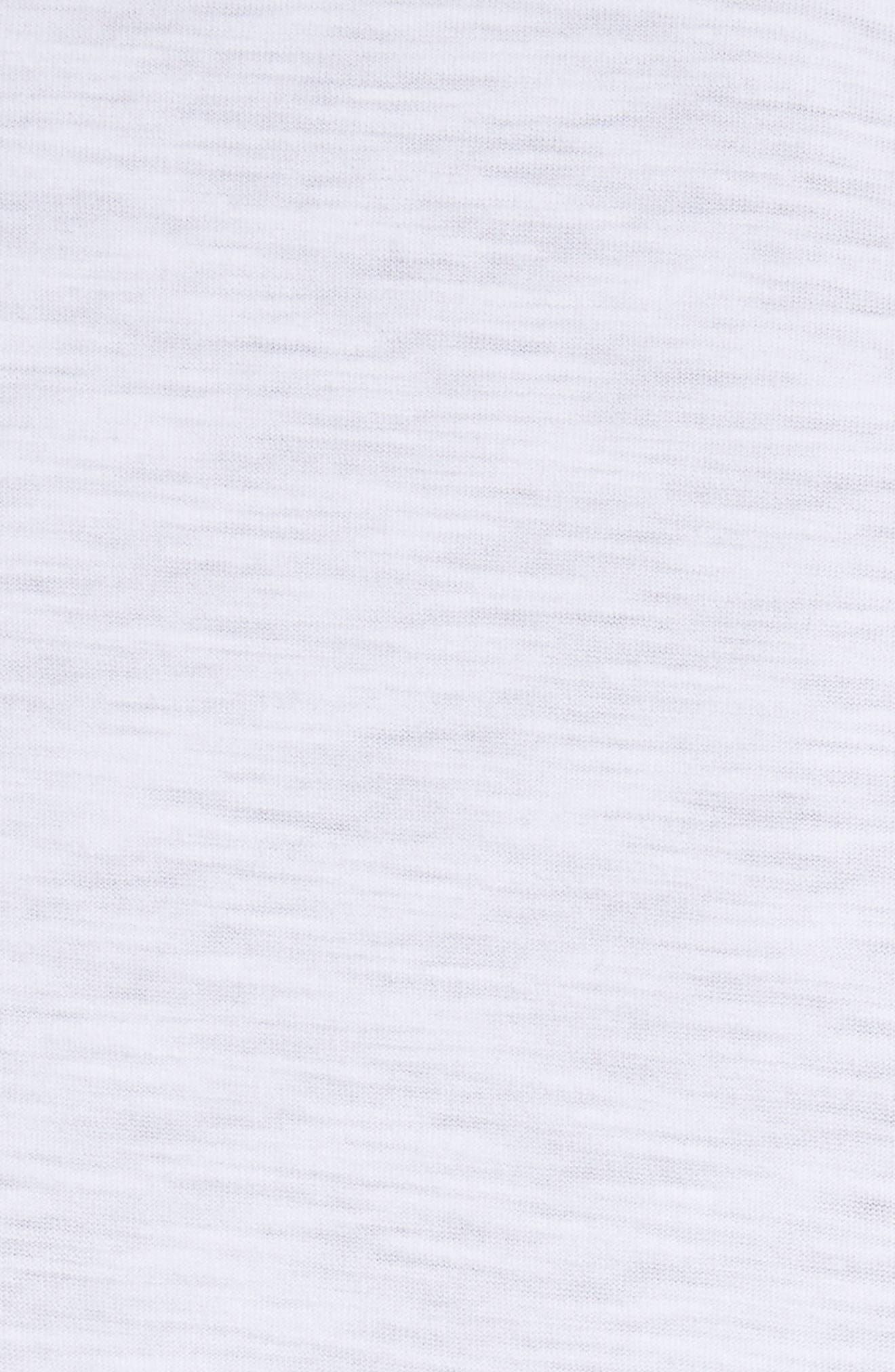 Animal Skeleton Graphic T-Shirt,                             Alternate thumbnail 5, color,                             White