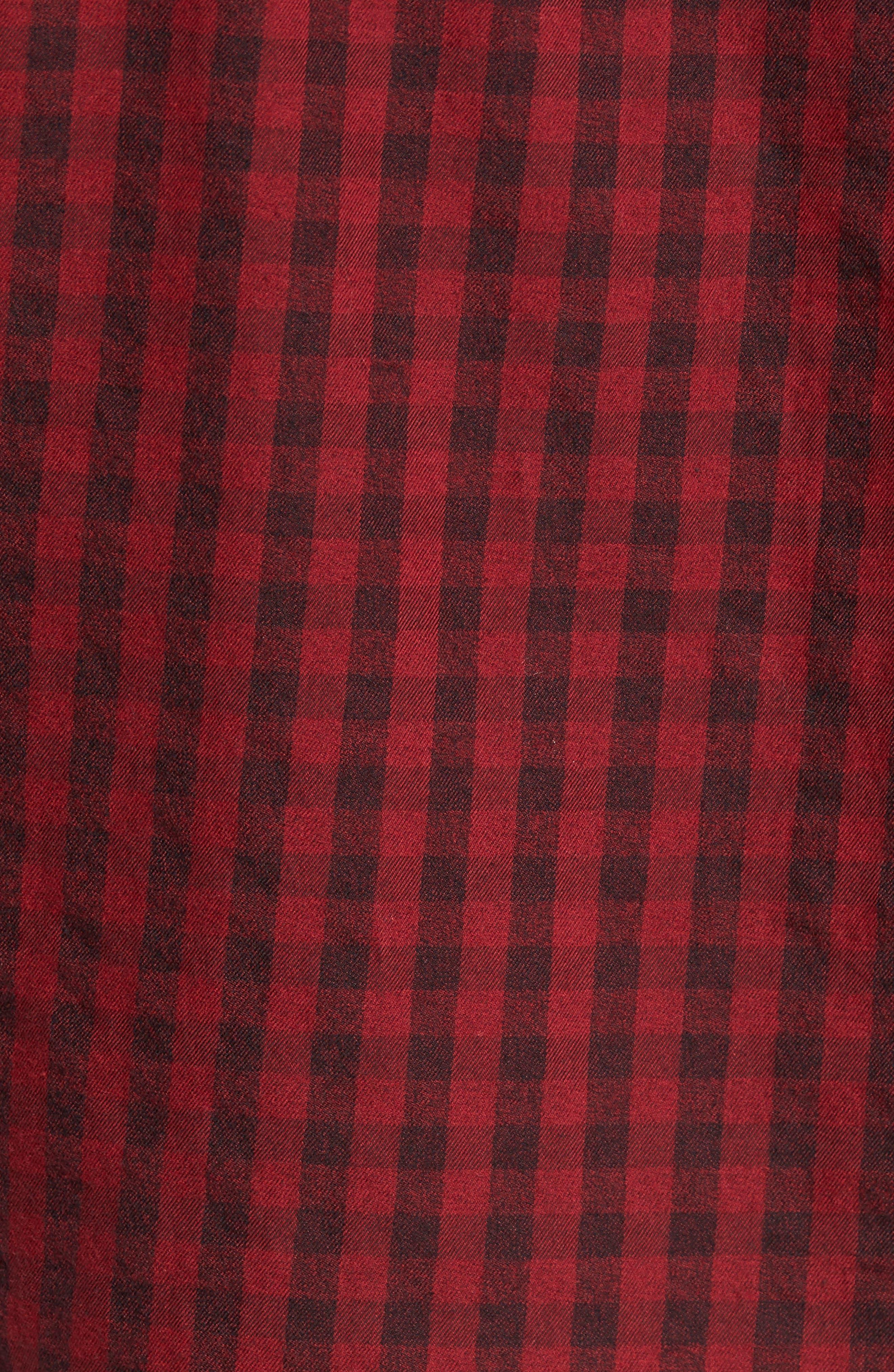 Alternate Image 5  - Calvin Klein Jeans Barn Flannel Shirt