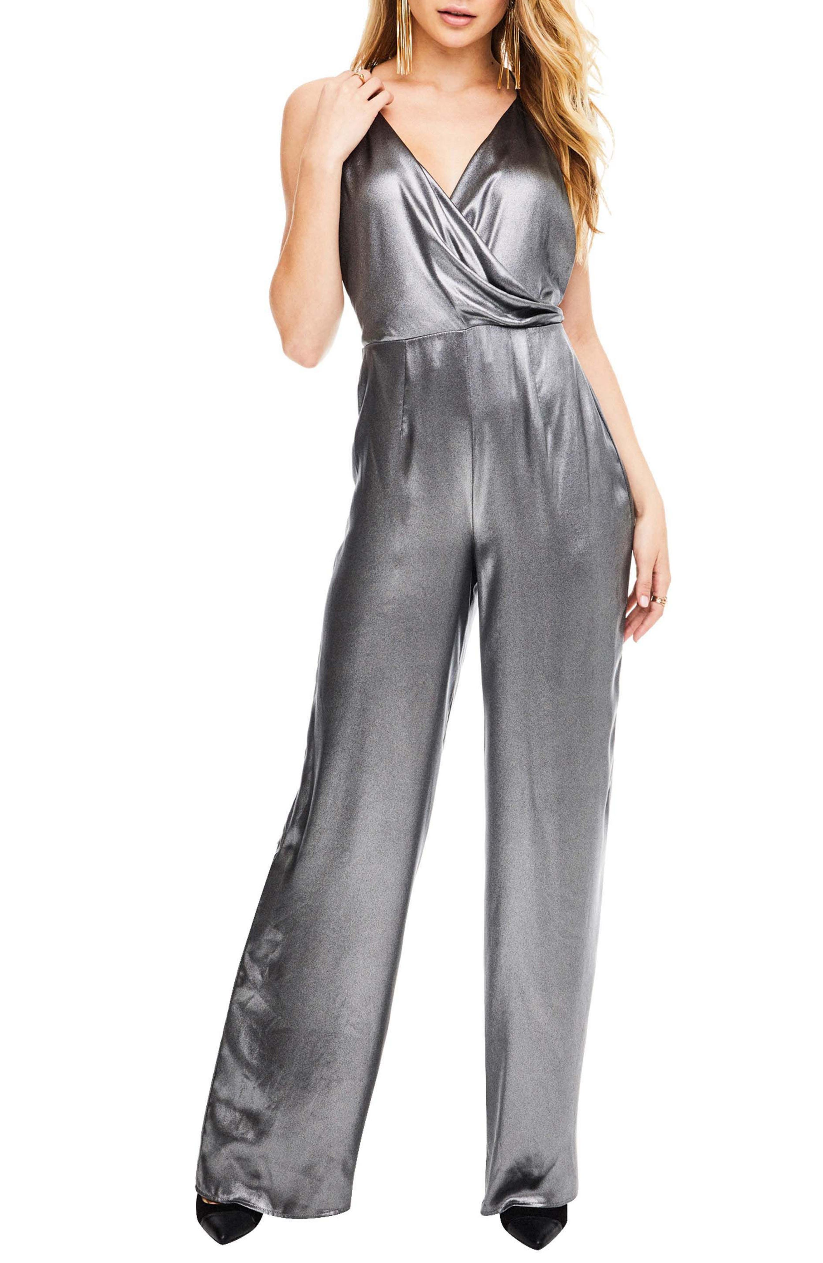 Winona Jumpsuit,                             Main thumbnail 1, color,                             Gunmetal