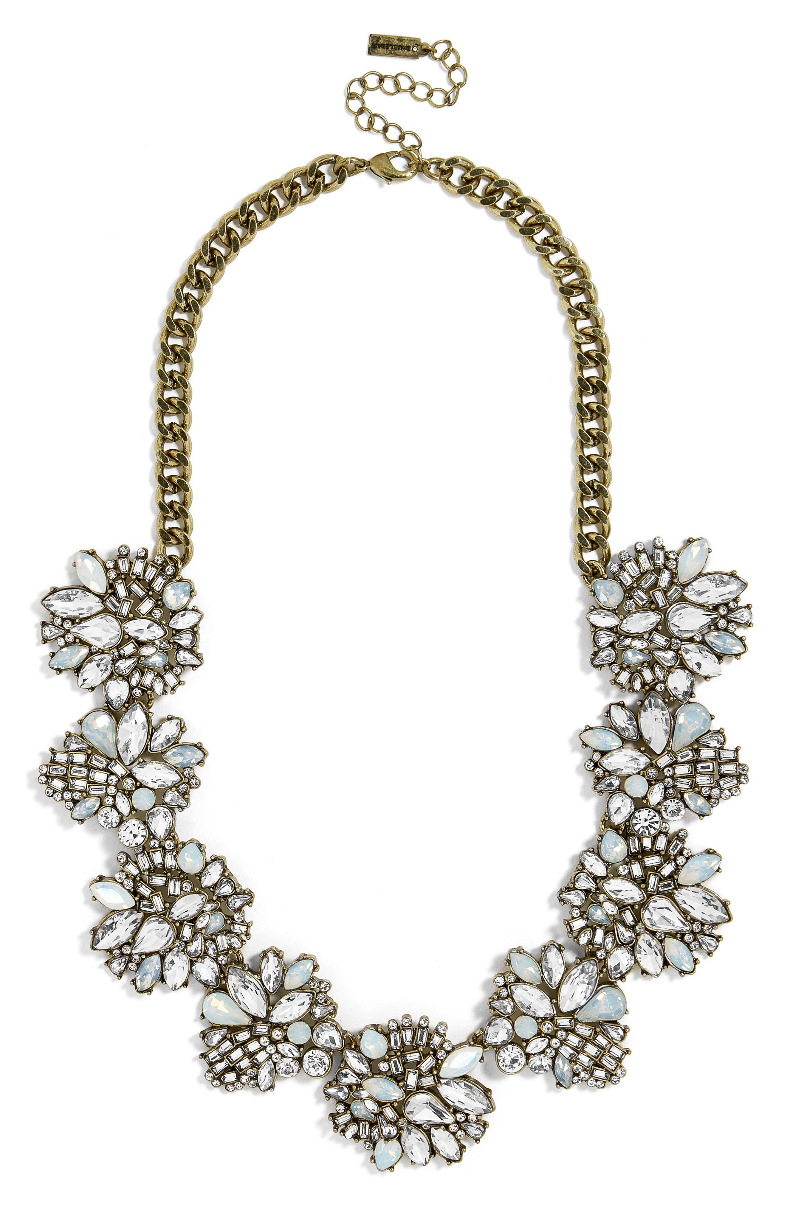 Main Image - BaubleBar Lissandra Crystal Statement Necklace
