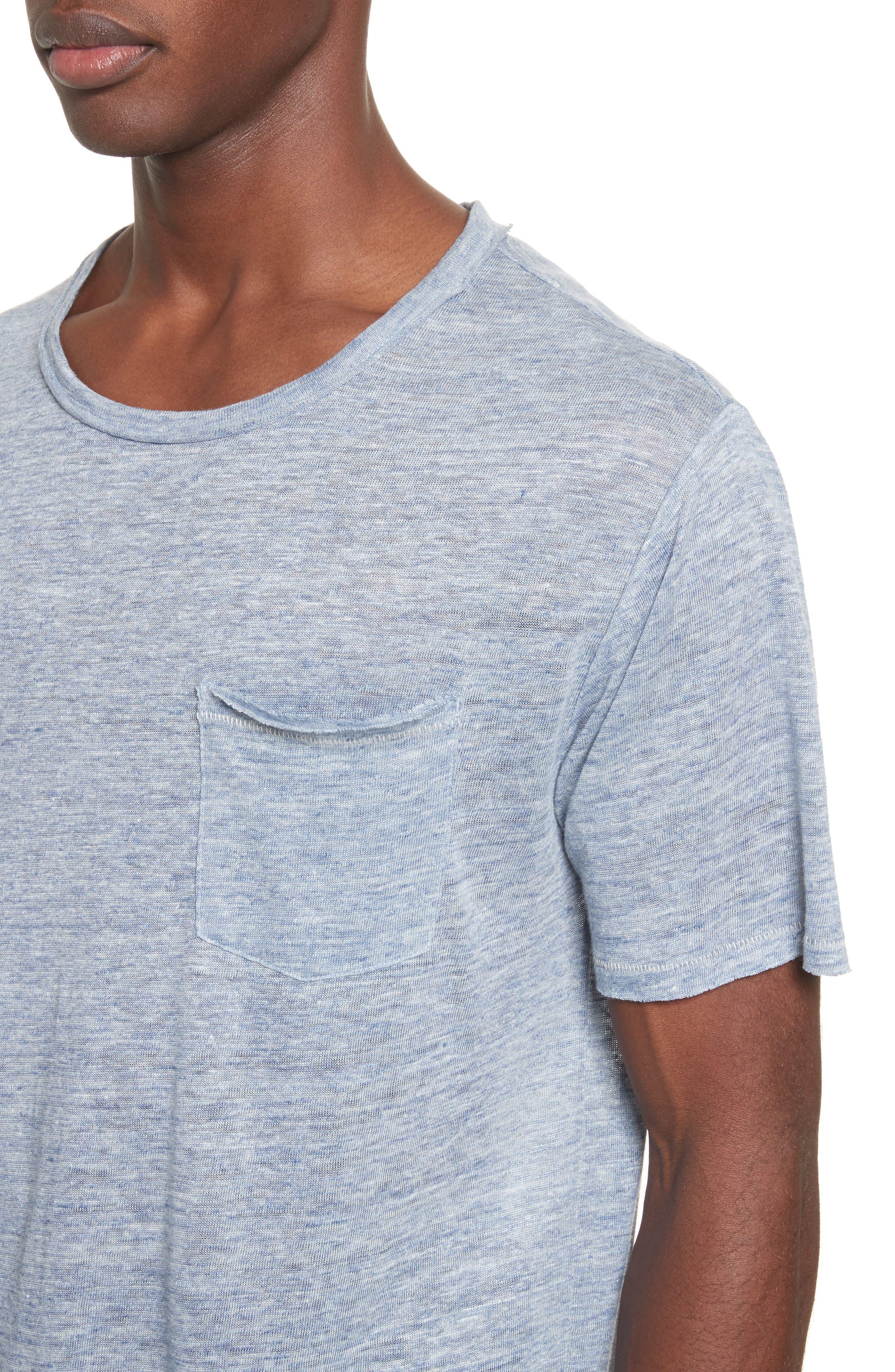 Owen T-Shirt,                             Alternate thumbnail 4, color,                             Blue