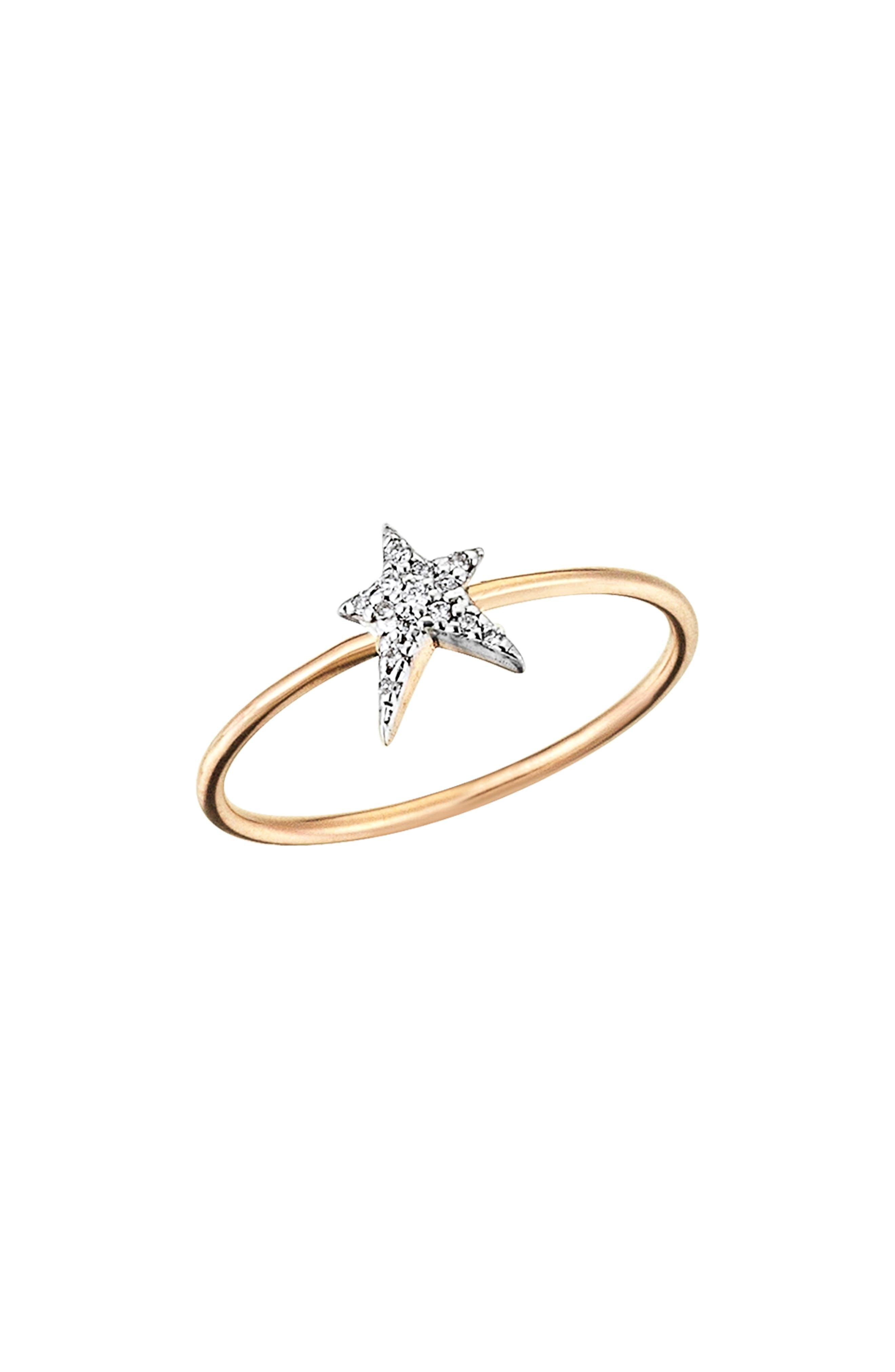 Alternate Image 1 Selected - Kismet by Milka Star Struck Diamond Ring