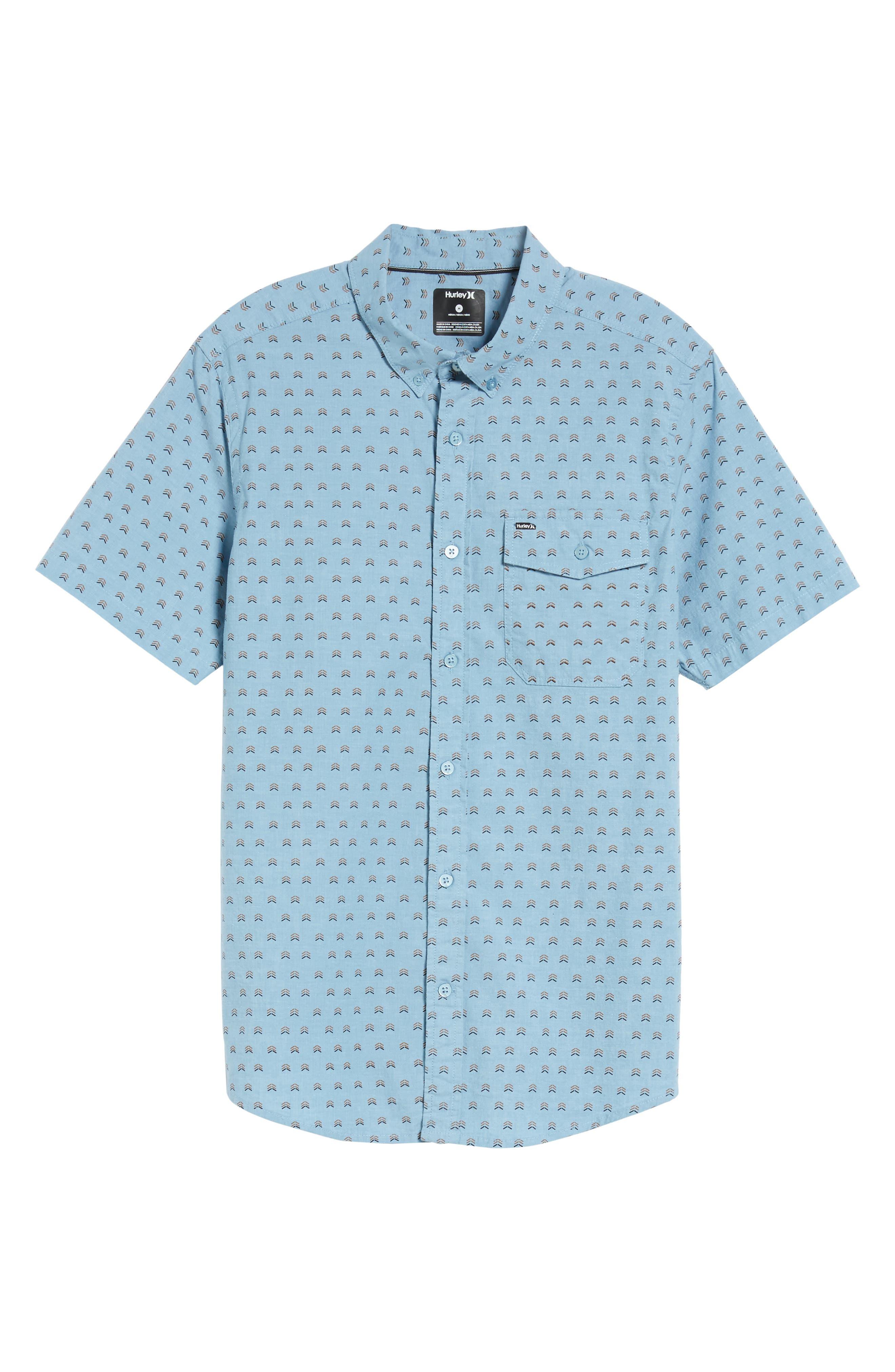 Alternate Image 6  - Hurley Brooks Woven Shirt