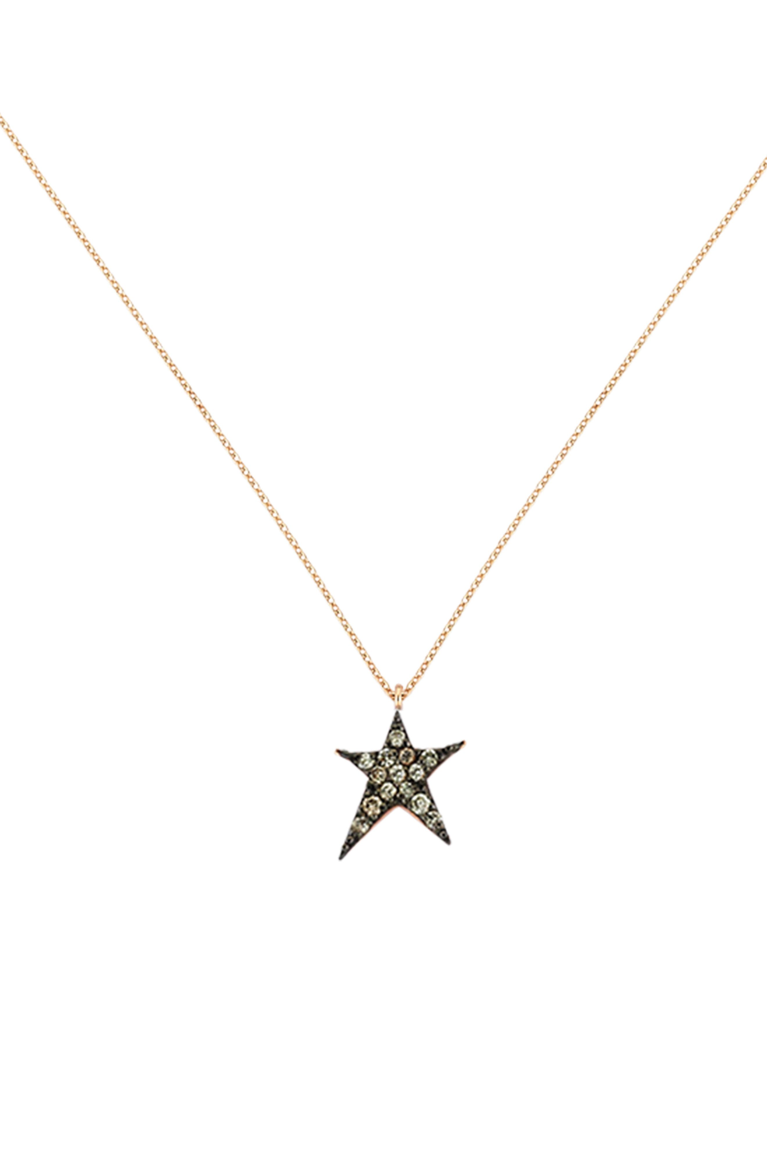 Kismet by Milka Diamond Star Pendant Necklace